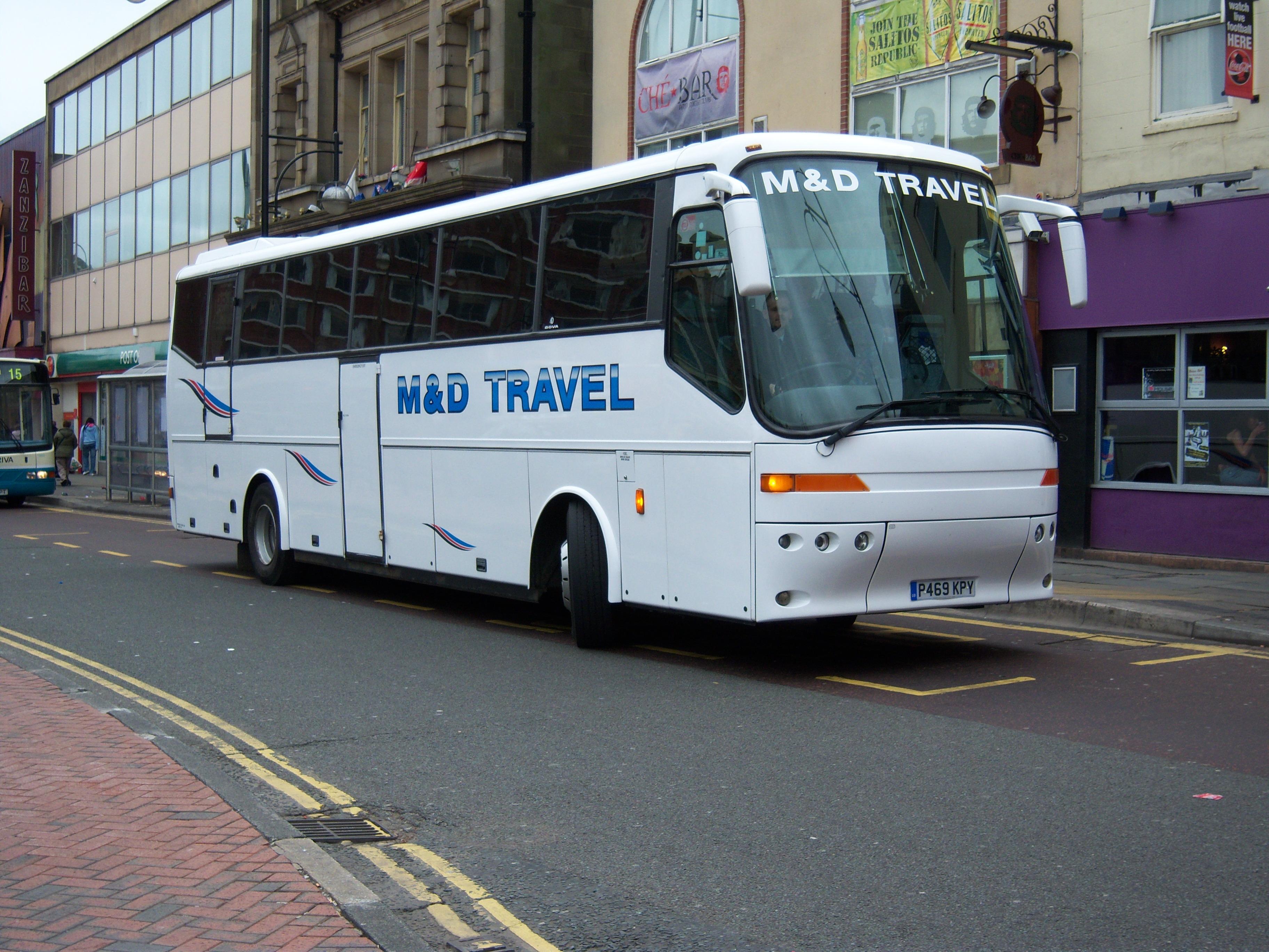 File:M&D Travel coach P469 KPY Bova Futura in Stockton 5 May 2009 ...