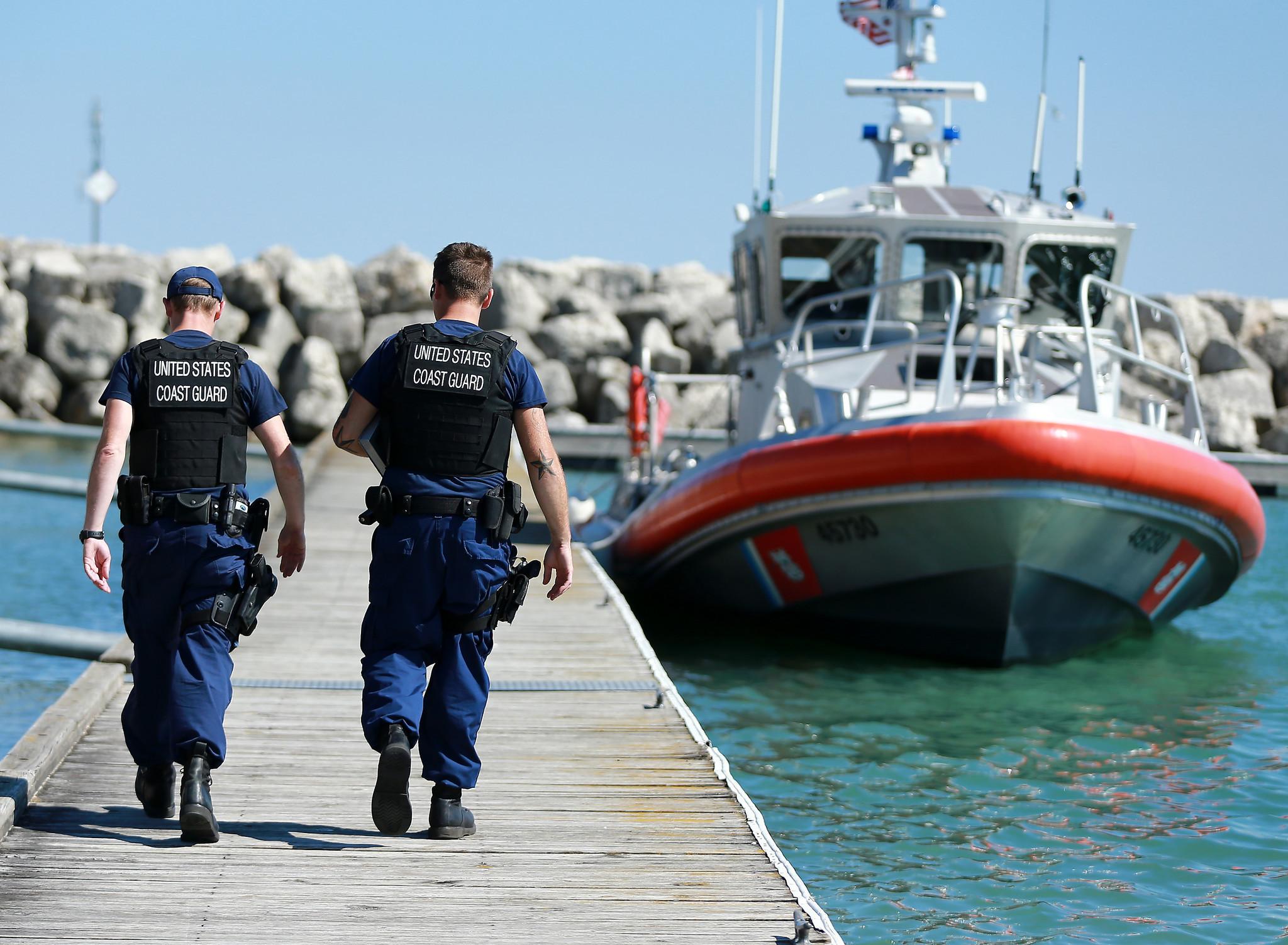 Real, fake distress calls on Lake Michigan spike: Coast Guard ...