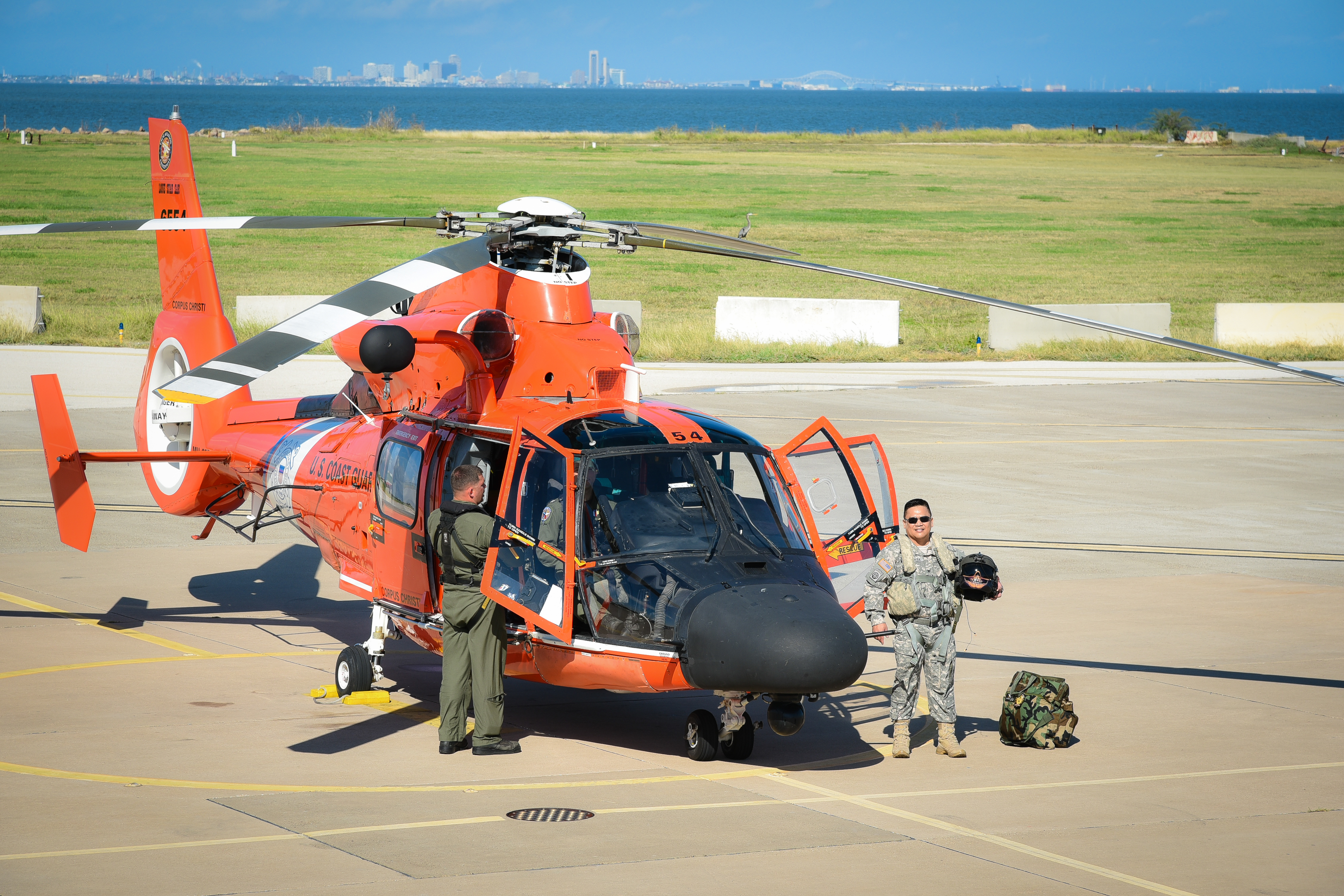 Army Helicopter Maintenance Depot Commander Goes Coast Guard for a ...