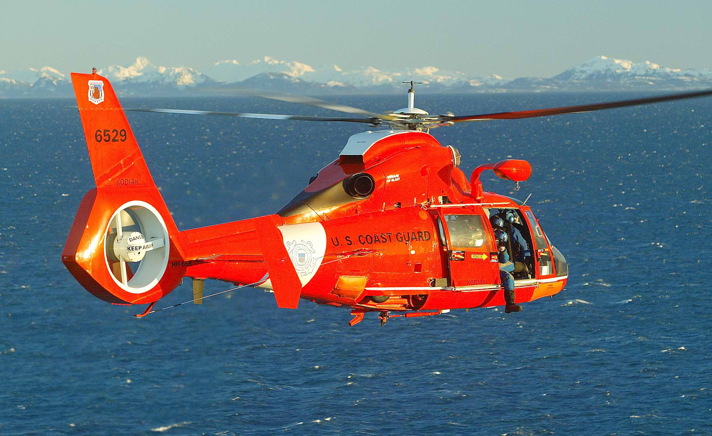 United States Coast Guard Helicopter