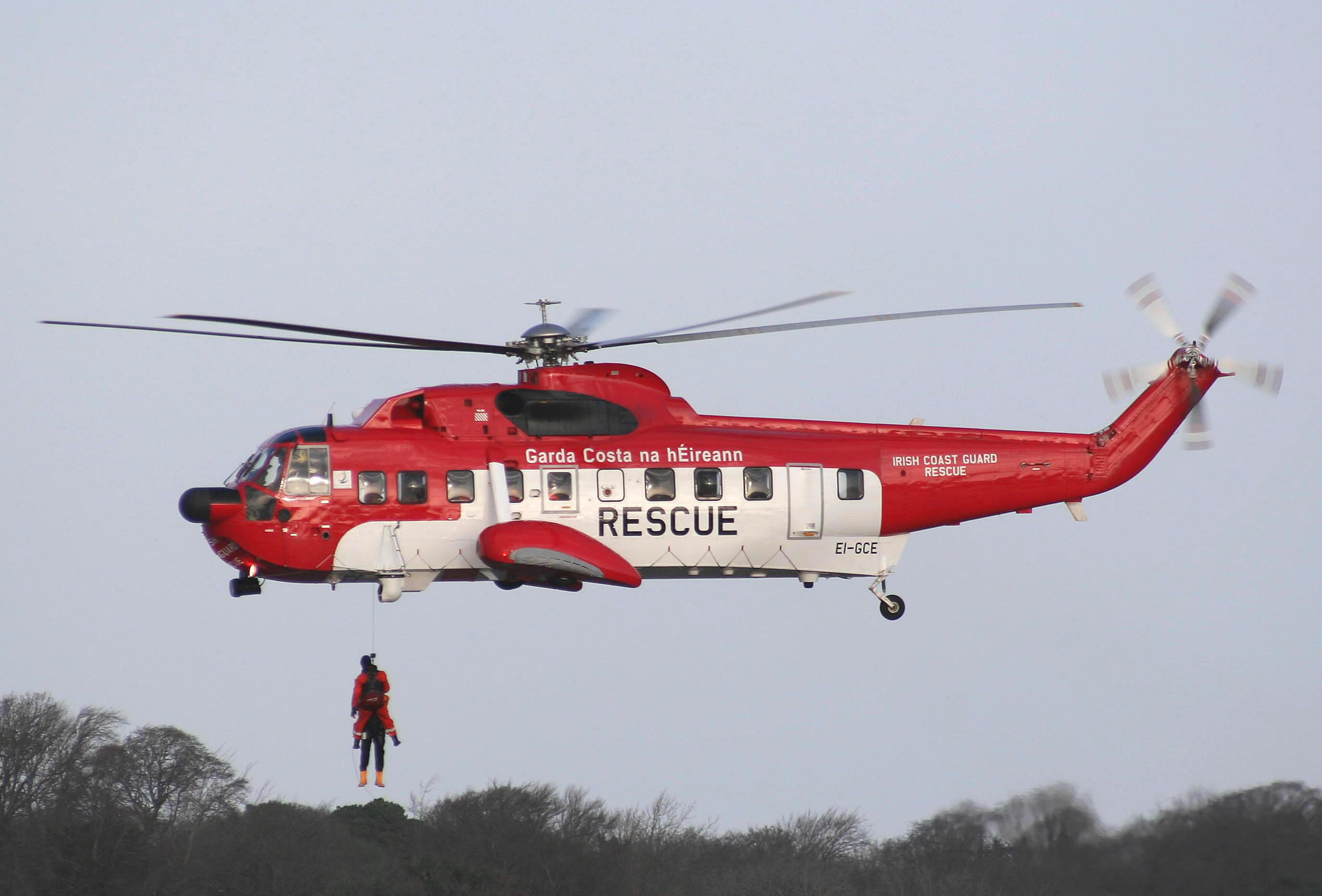 Hopes fading' over missing Irish Coast Guard helicopter crew – CGA ...