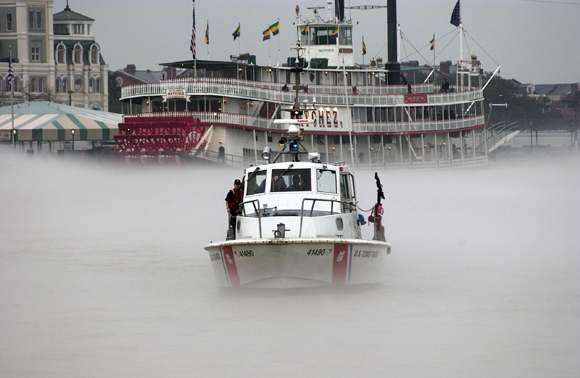 Coast guard patrol boat photo