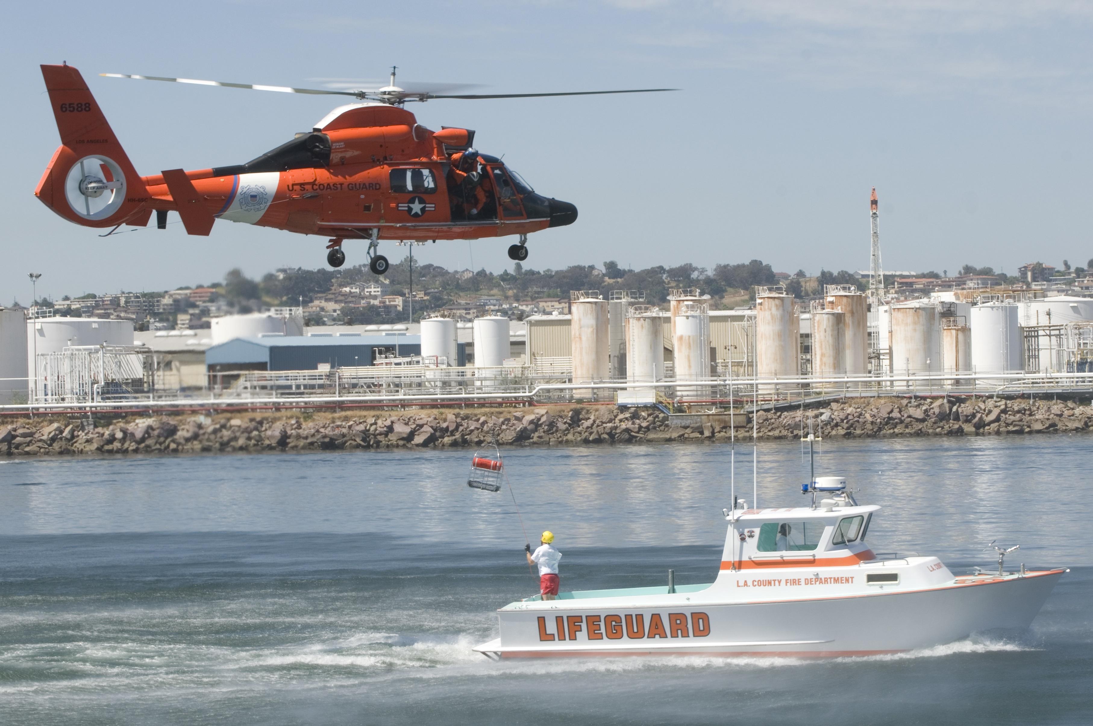 Coast Guard Training, Activity, Boat, Coast, Exercise, HQ Photo