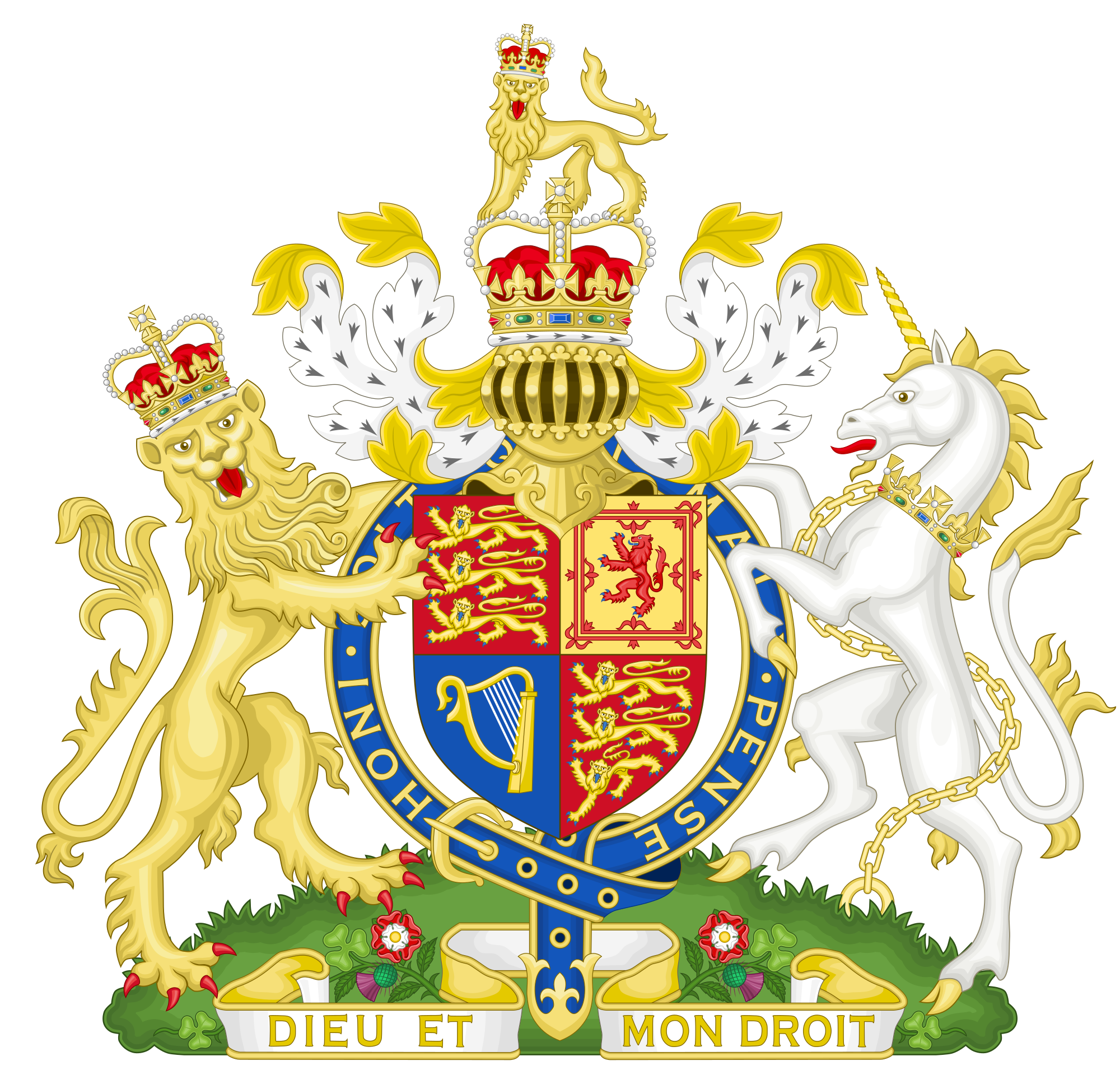 Royal coat of arms of the United Kingdom - Wikipedia