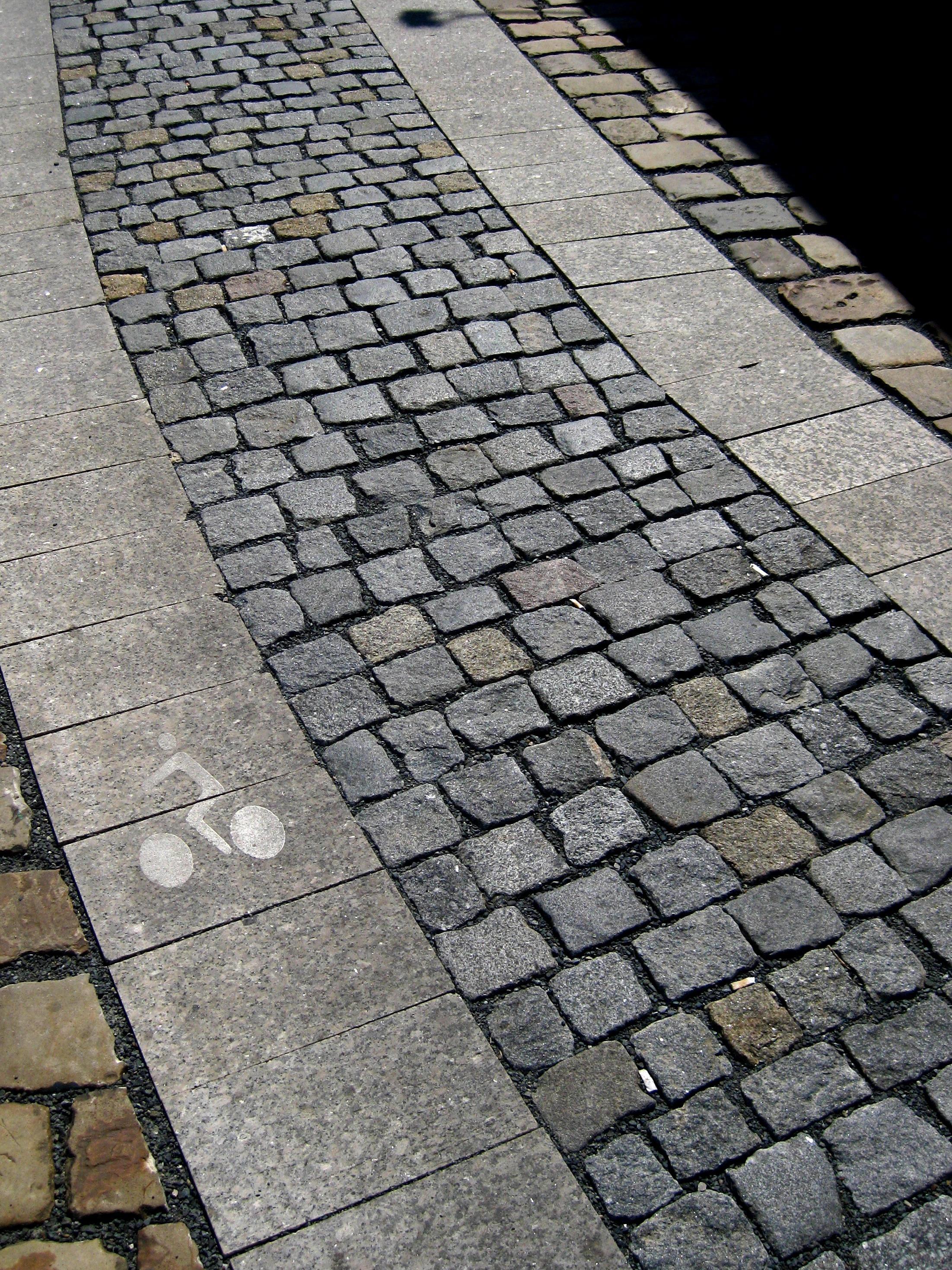 Stone pavement photo