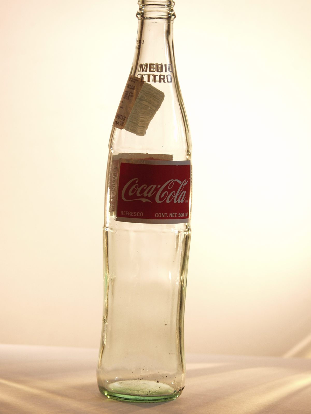 Coca cola bottle photo