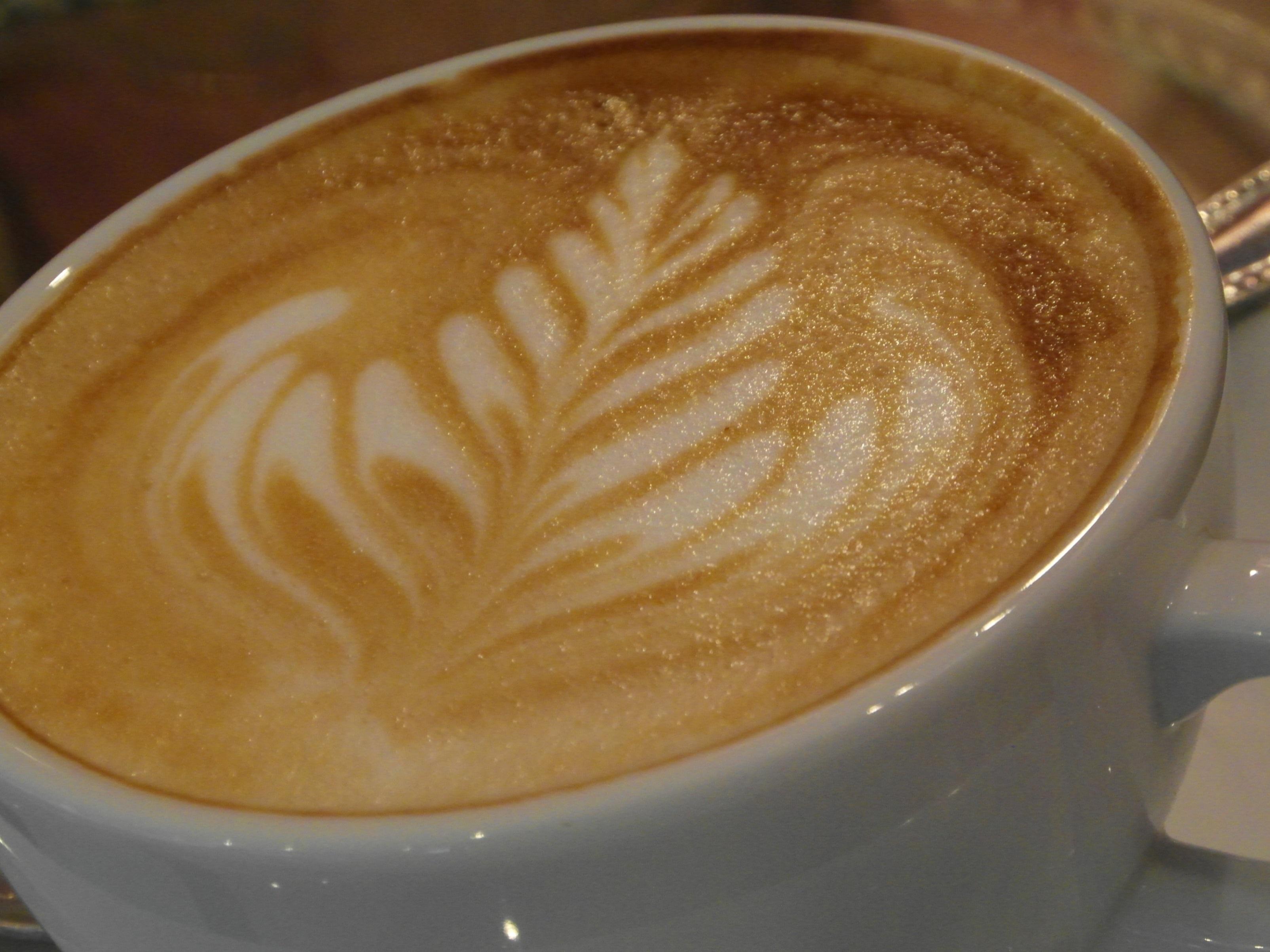Coffee Art Patterns, Art, Latte, Espresso, Foam, HQ Photo