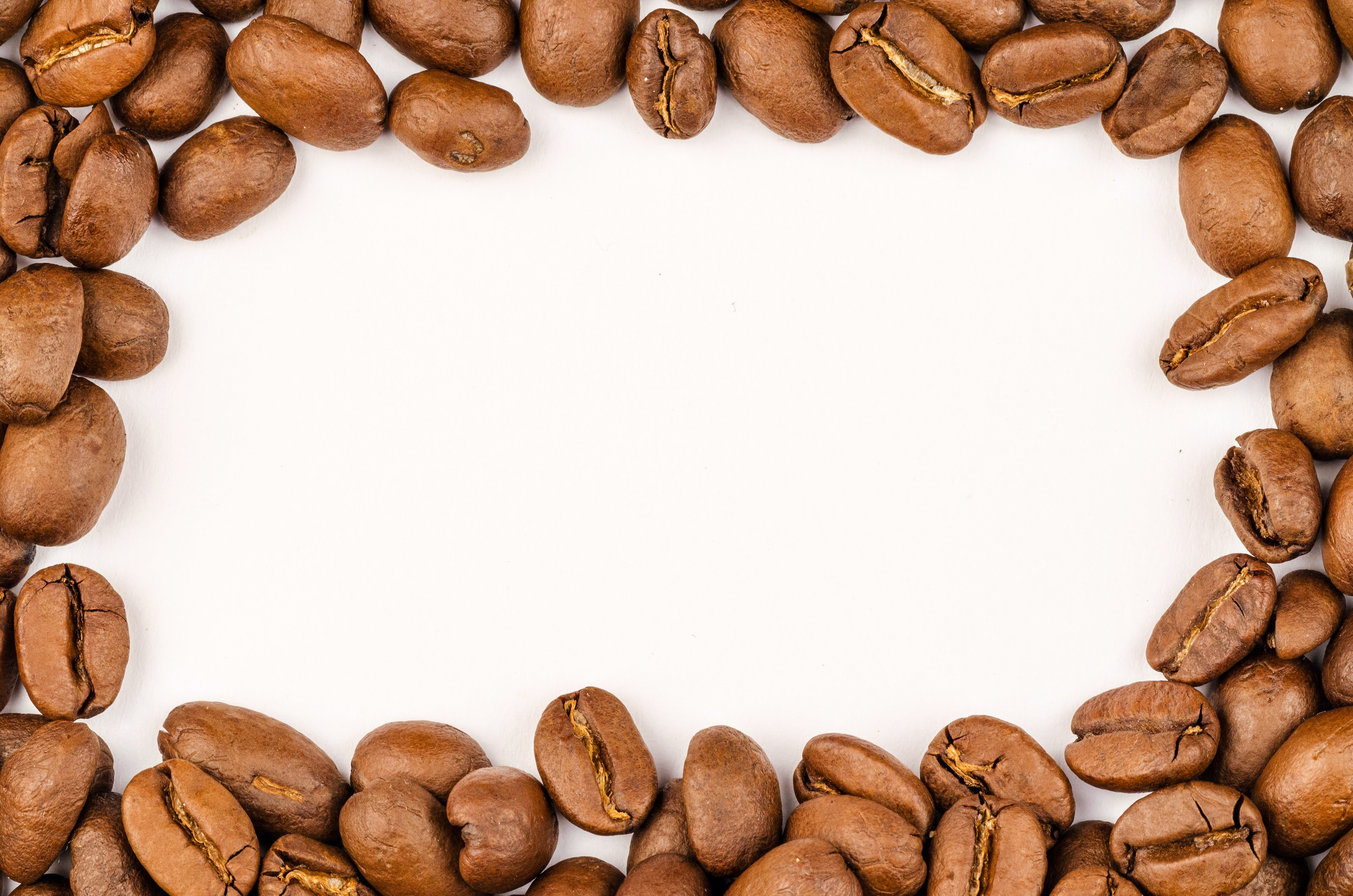 Coffee Beans, Raw, Macro photography, Seeds, Texture, HQ Photo