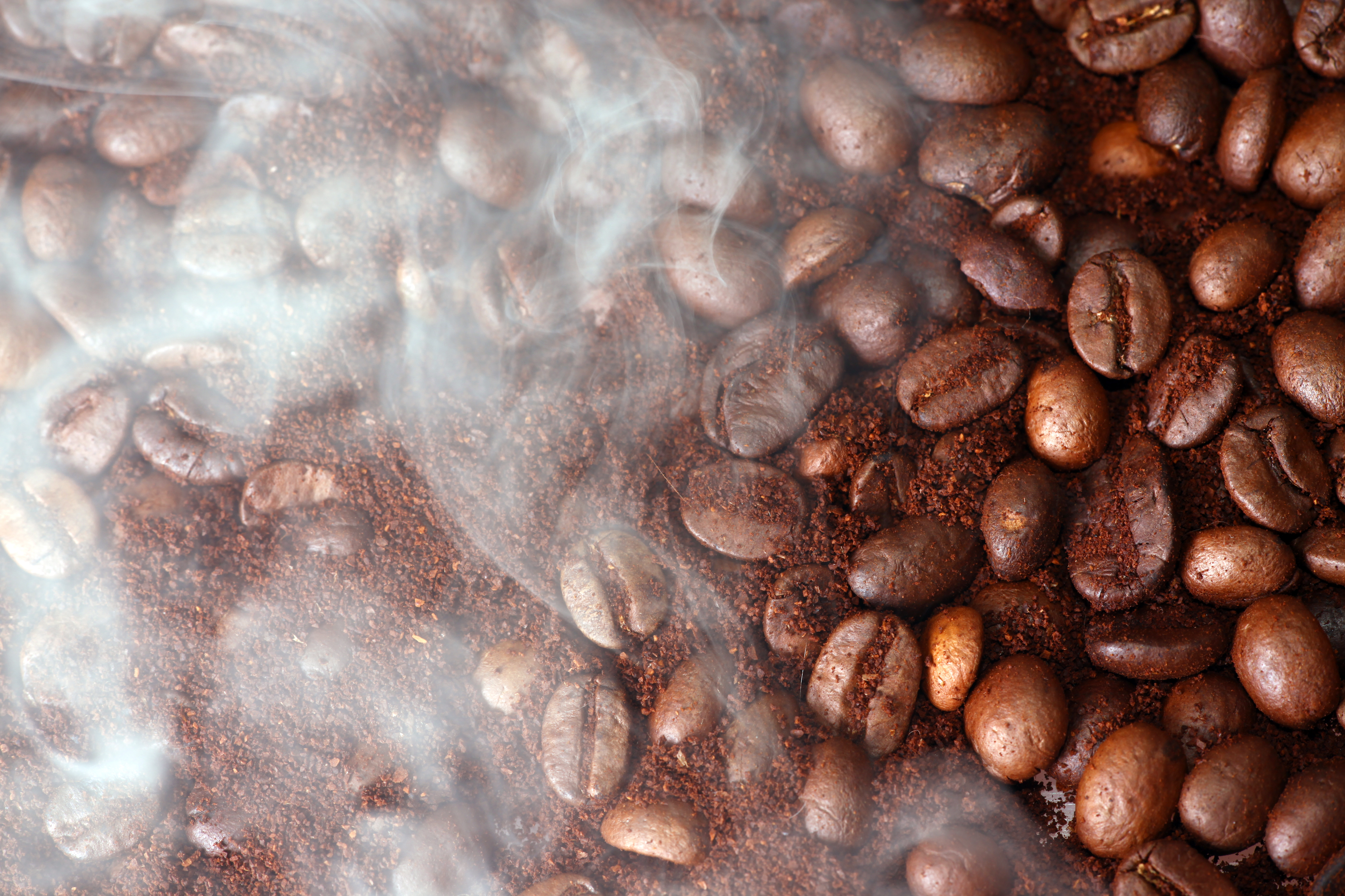 Coffee Beans and Aroma, Abstract, Objects, Ingredient, Large, HQ Photo
