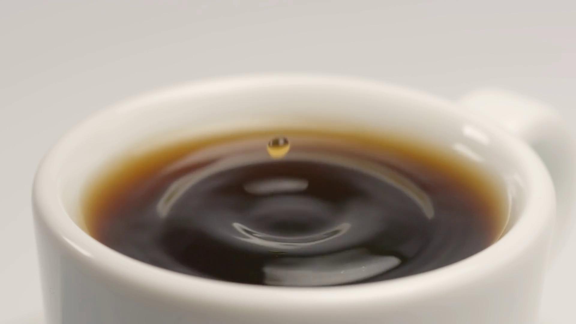 Coffee drop photo