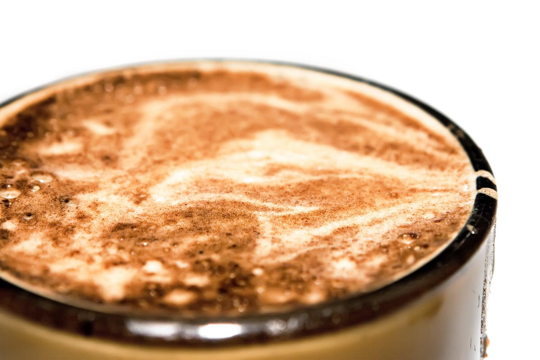 Coffee foam photo
