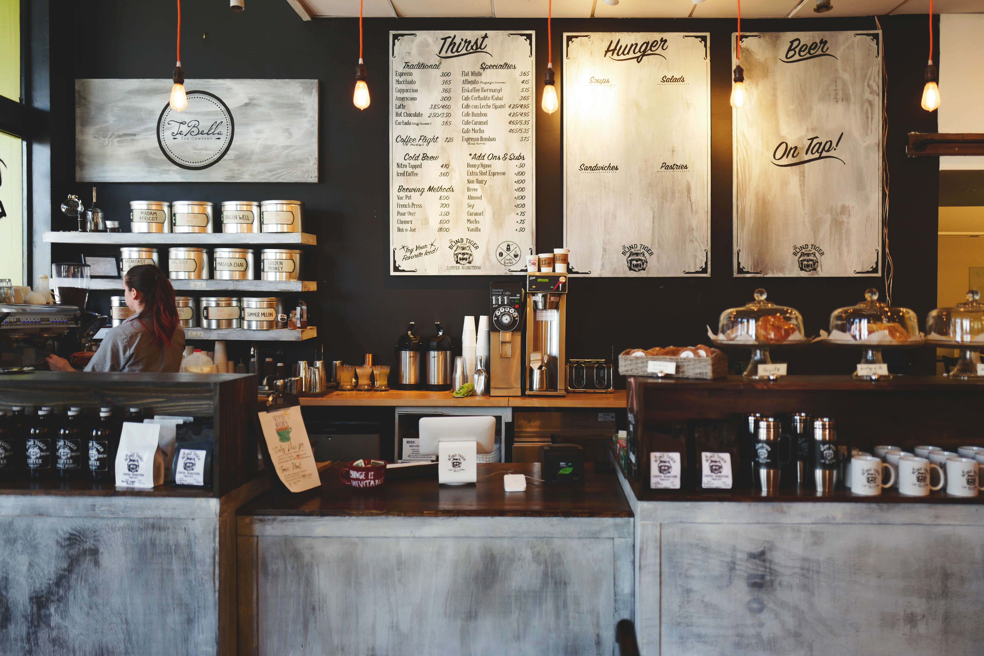 Vintage Coffee Shop Counter Free Photo - ISO Republic