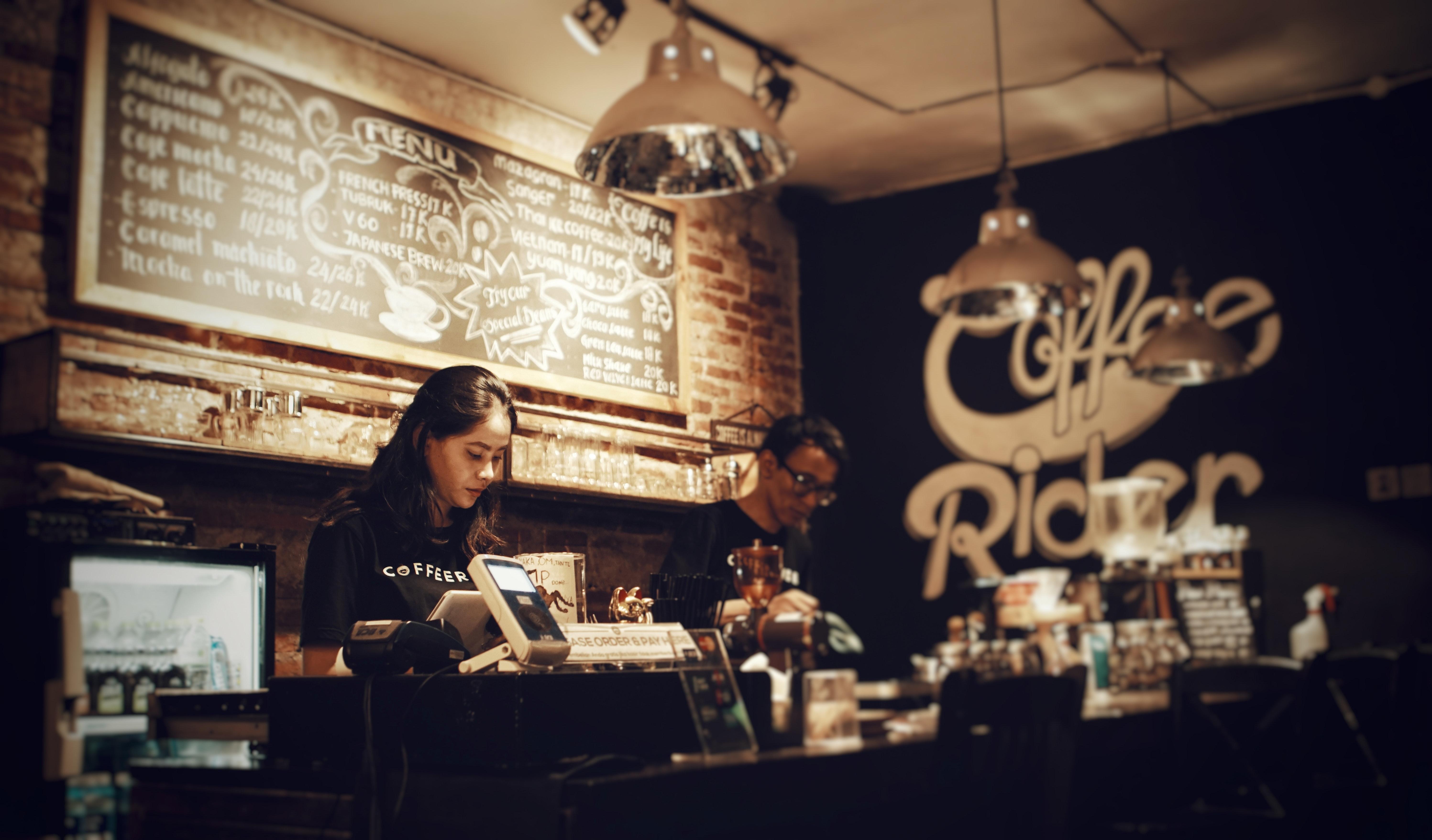 Coffee Shop, Barista, Barista girl, Business, Cafe, HQ Photo