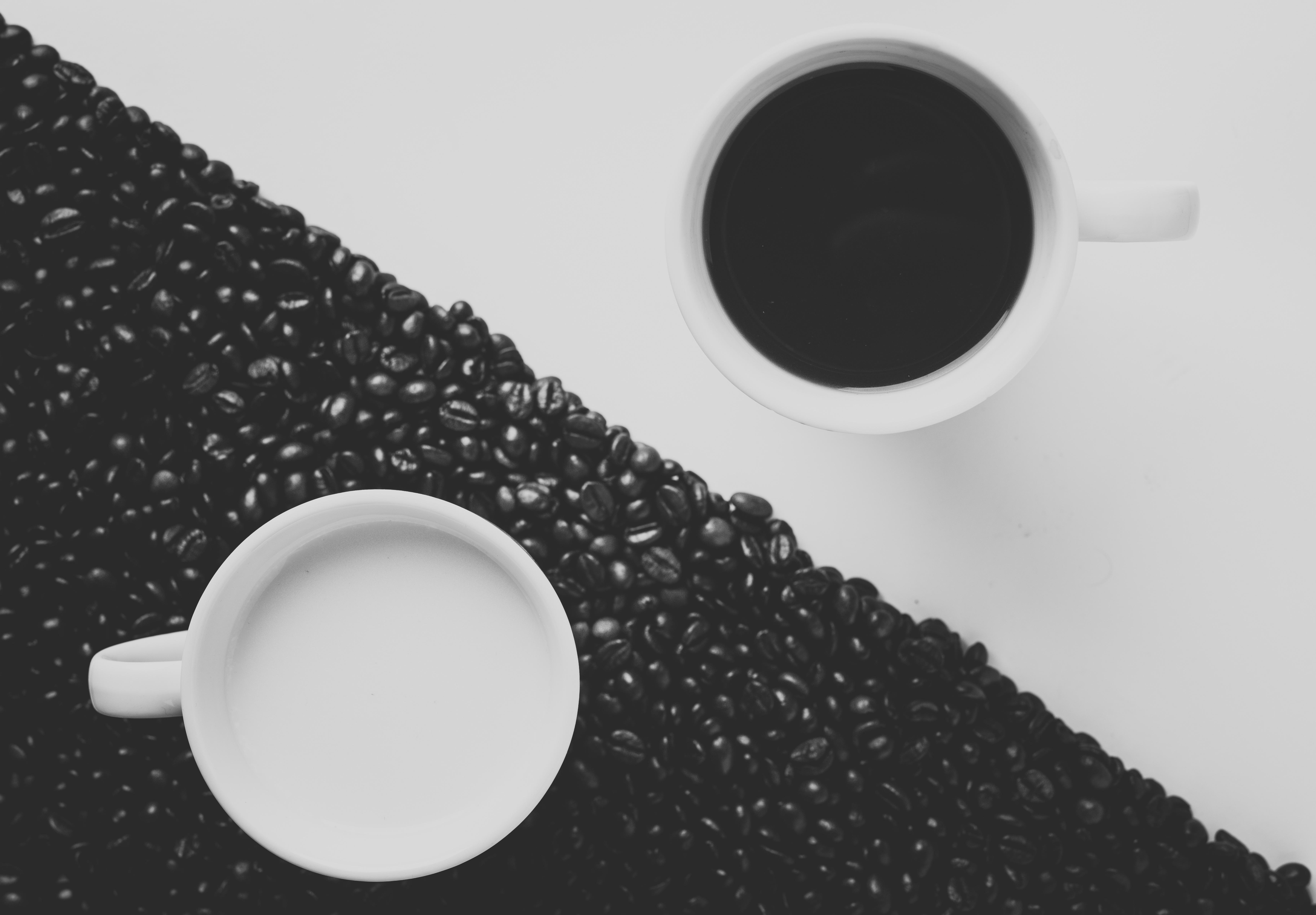 Coffee - yin and yang photo