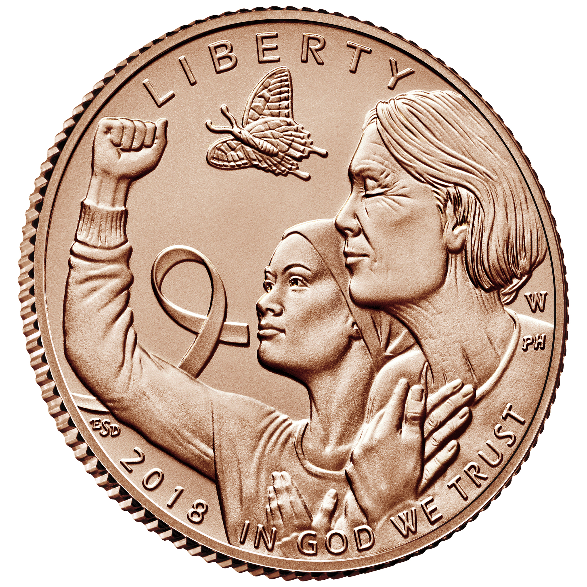 Breast Cancer Awareness Coin | U.S. Mint
