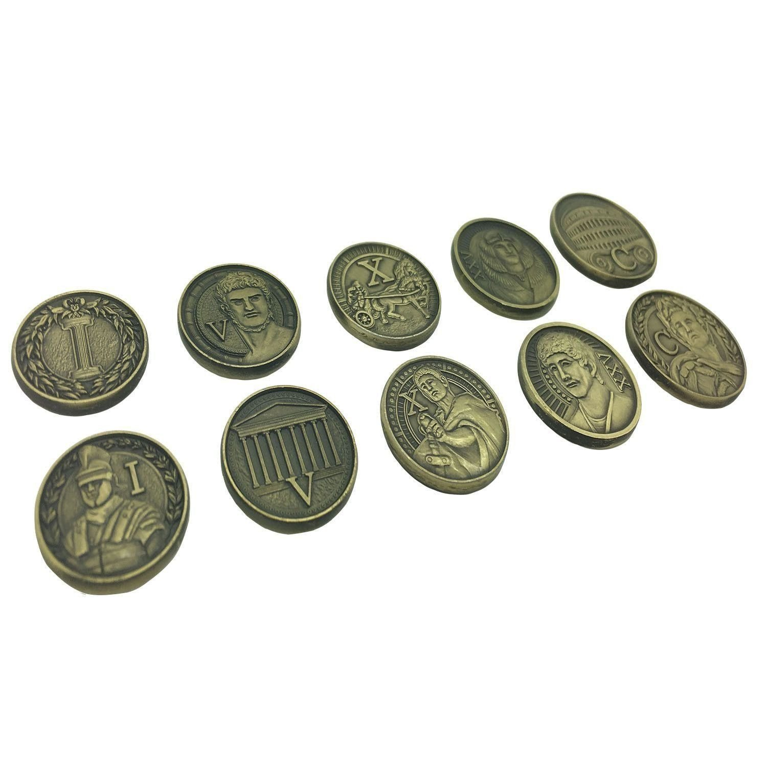 Adventure Coins - Roman 10 Pack by Norse Foundry | Tokens | D20 ...