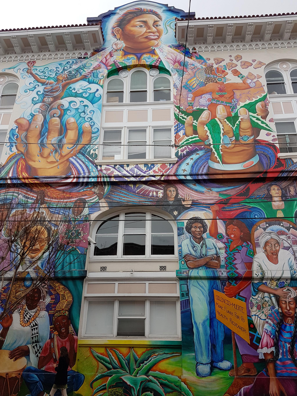 Coit mural newsstand photo