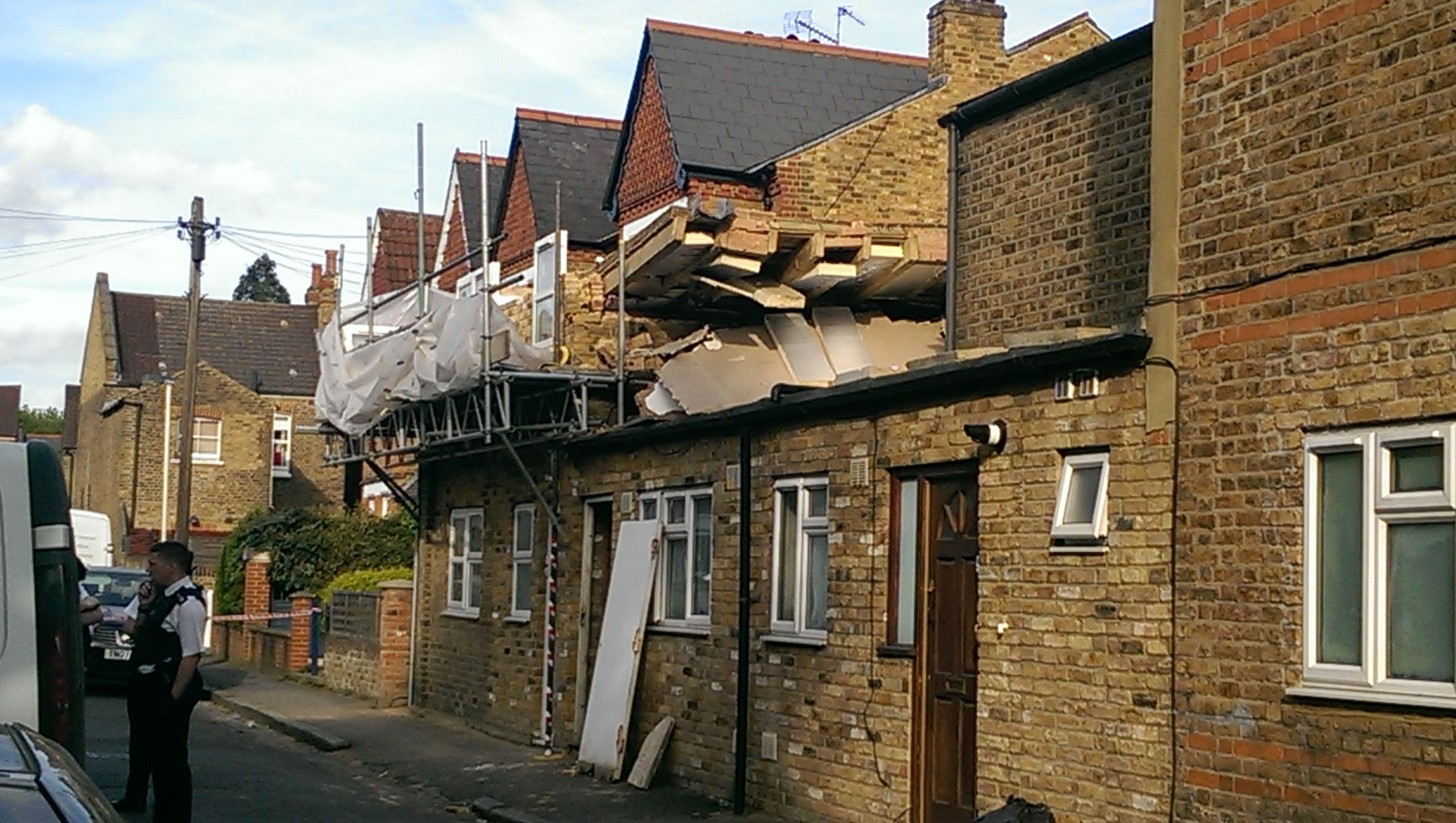 West Ealing roof collapse - Get West London