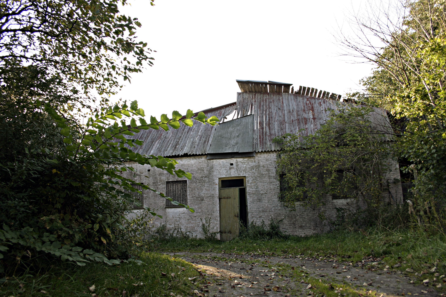 Collapsed roof, Abandoned, Broken, Building, Collapsed, HQ Photo