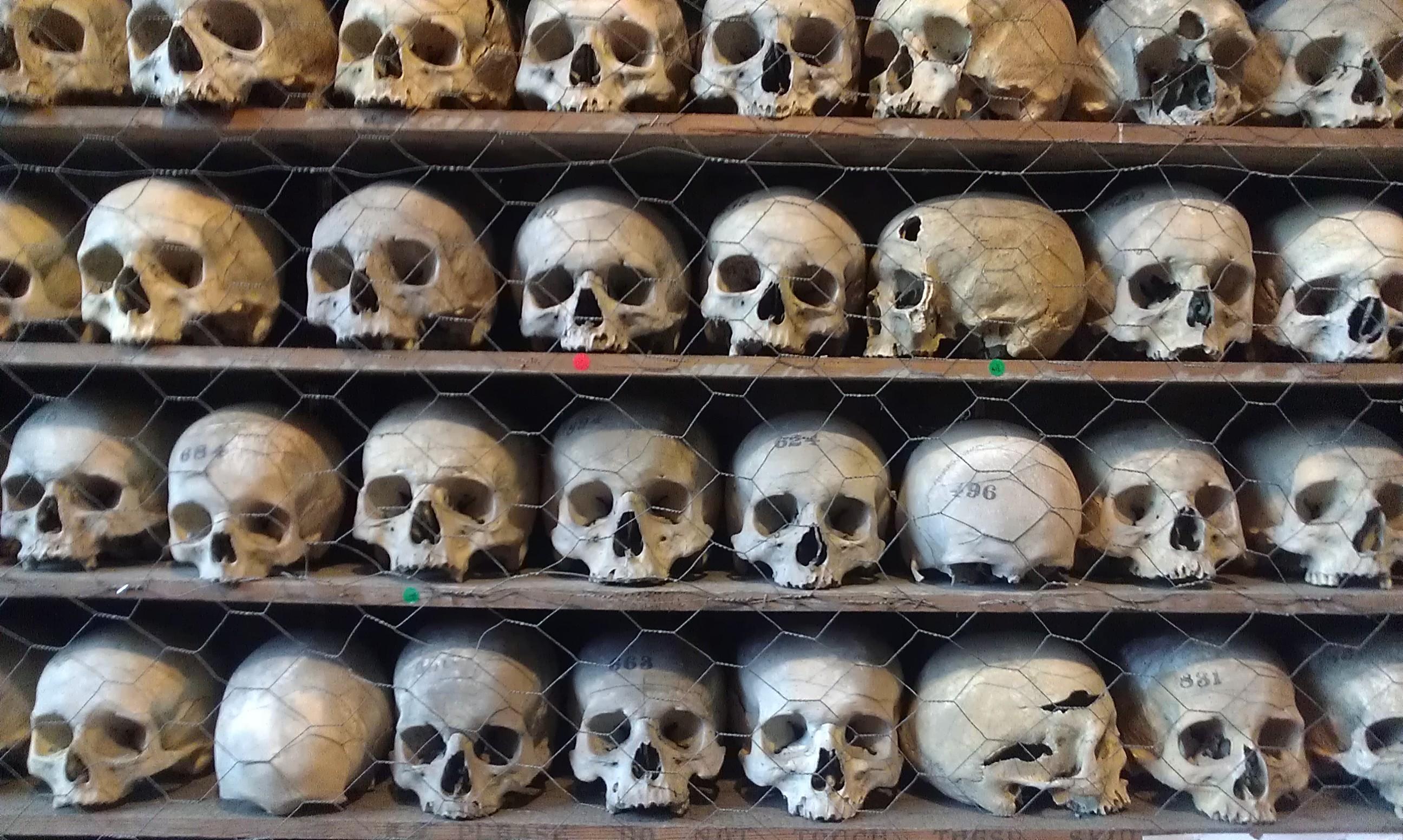 File:St Leonards Church ossuary skull collection.jpg - Wikimedia Commons