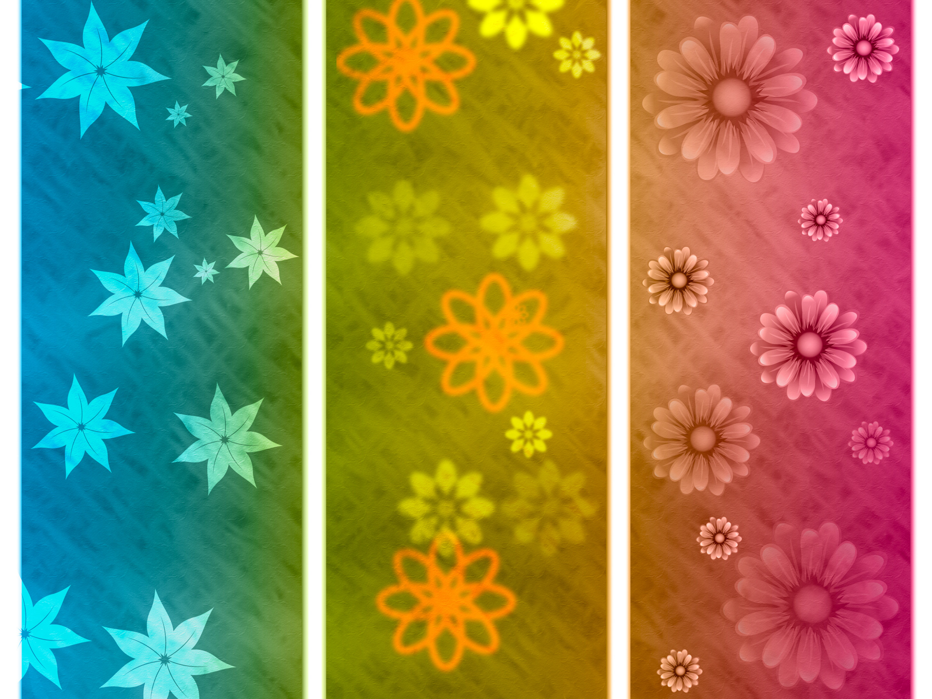 Color background indicates abstract environmental and bouquet photo