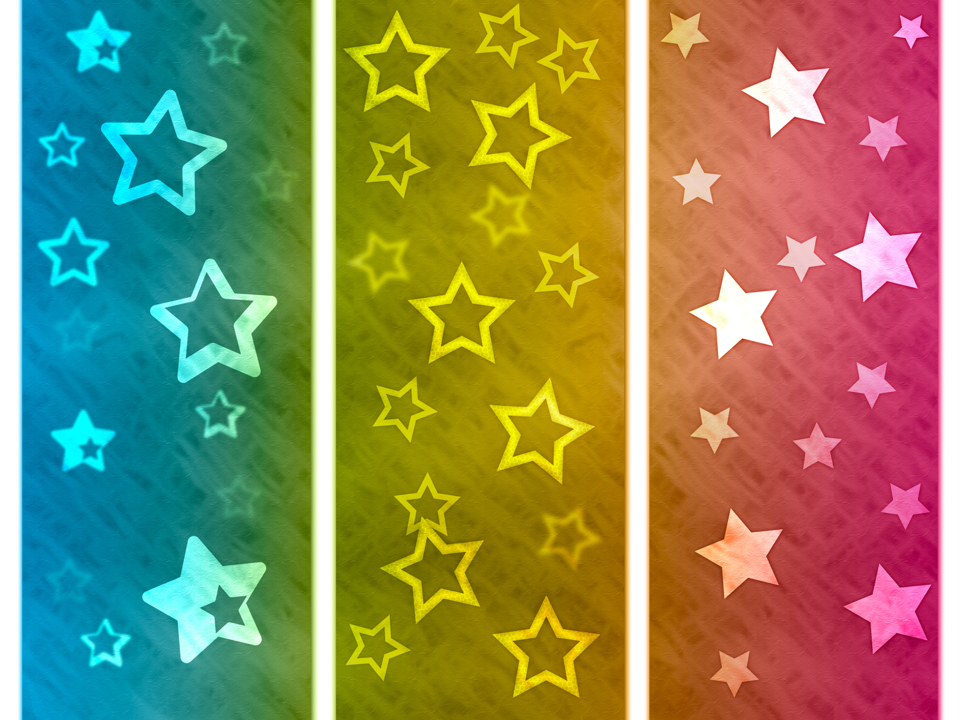 Color background shows star colourful and spectrum photo