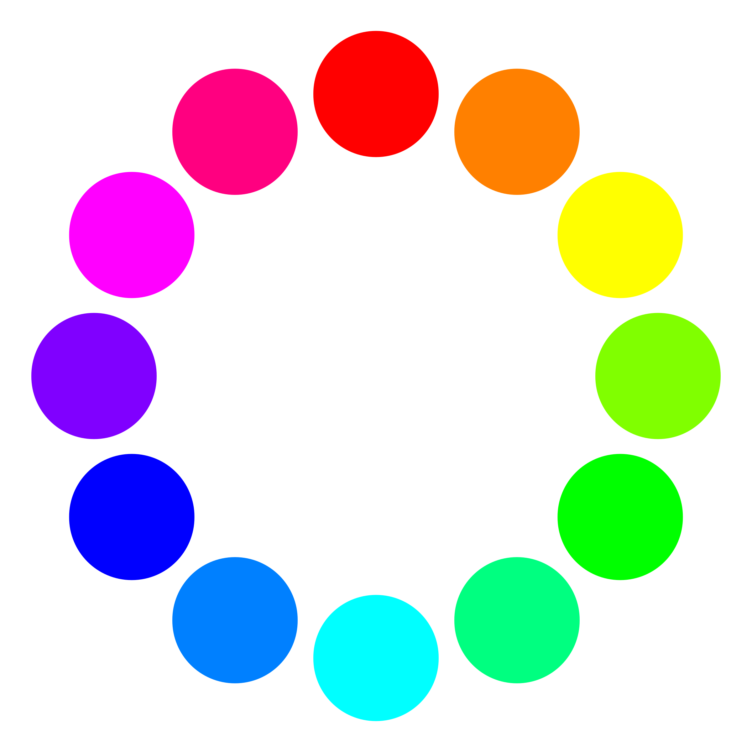 Coloured circles photo