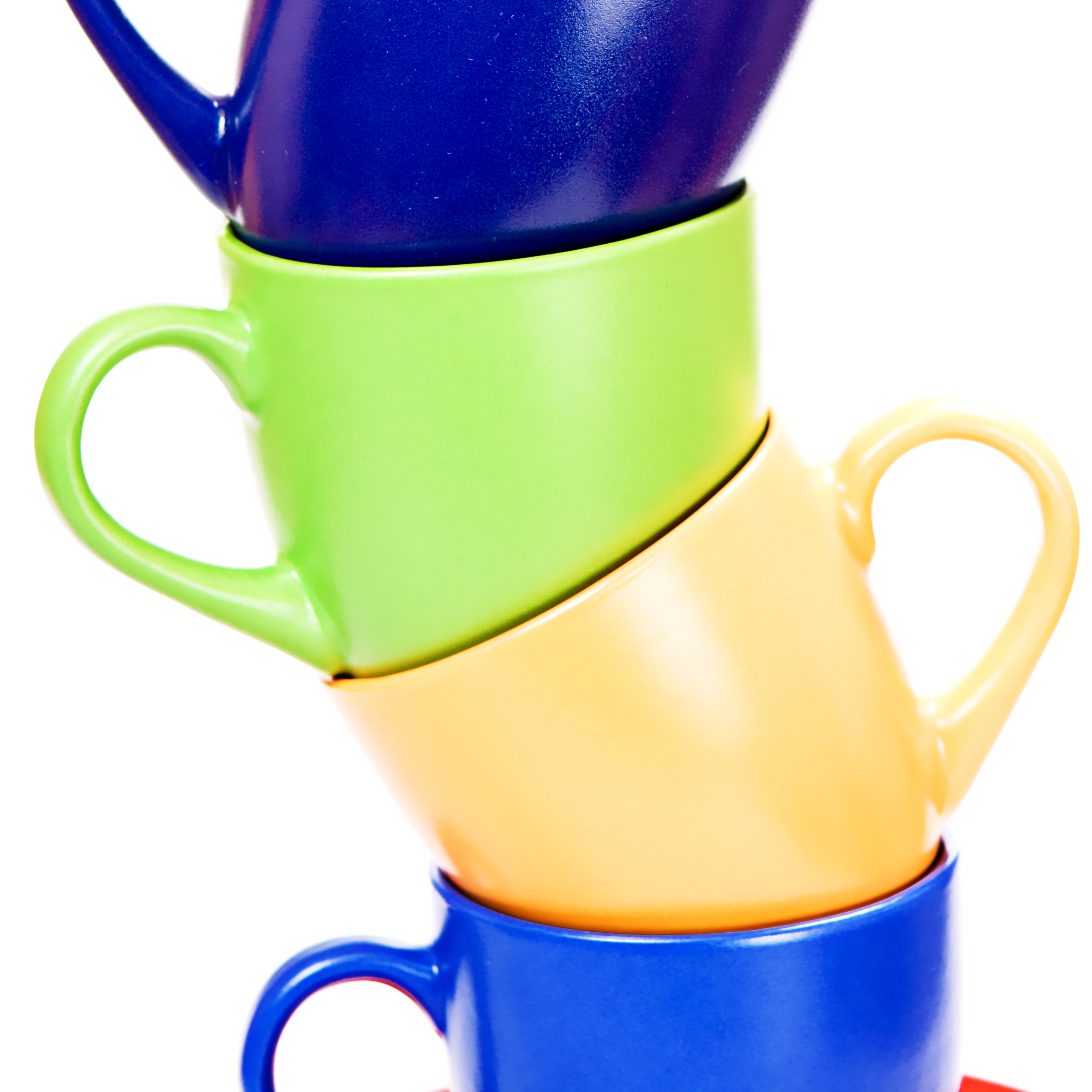 Color cups photo