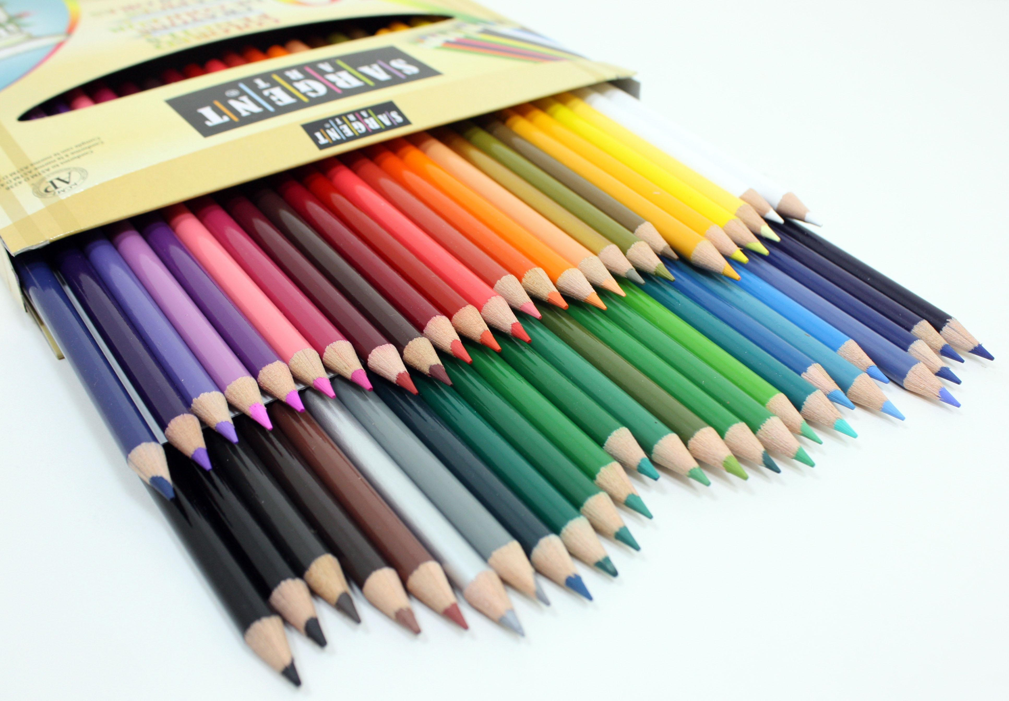 Gallery: Color Pencil Pictures To Color, - Drawings Art Gallery
