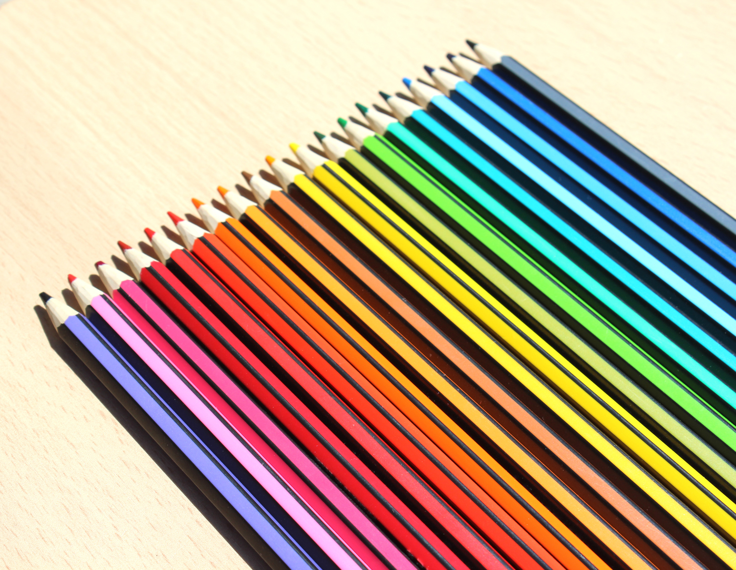 Color Pencil Set, Abstract, School, Nobody, Object, HQ Photo