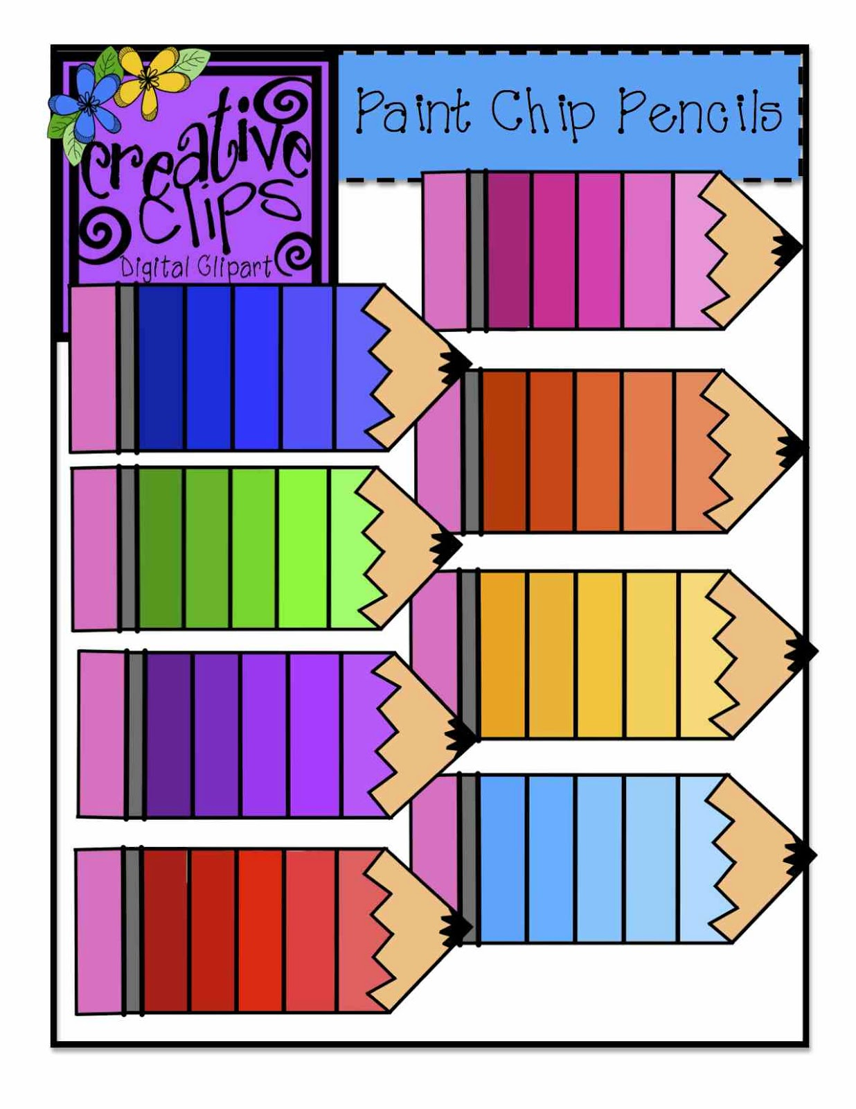 Colored Pencils Clipart | Clipart Panda - Free Clipart Images