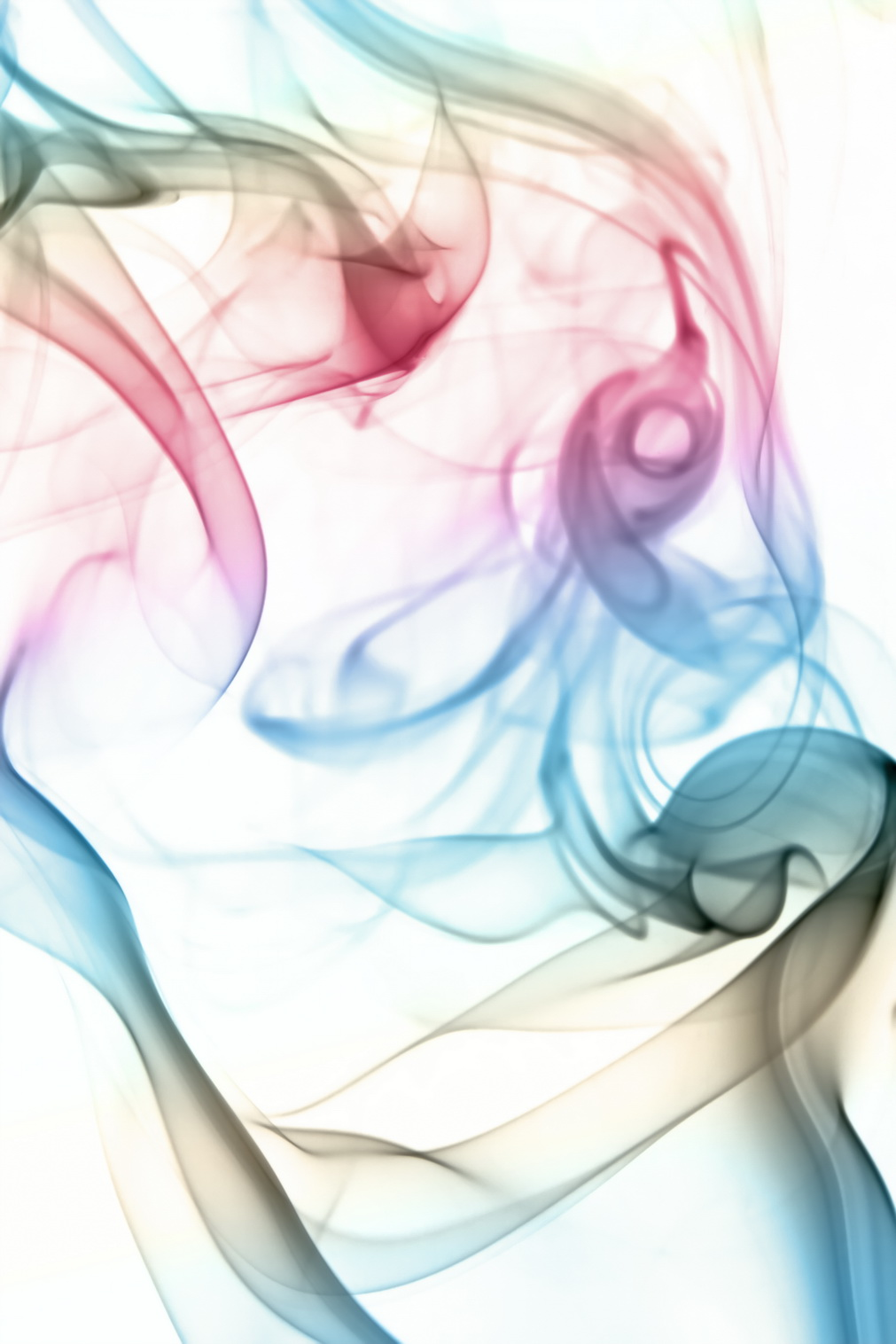 Color smoke waves, Abstract, Aroma, Aromatherapy, Color, HQ Photo