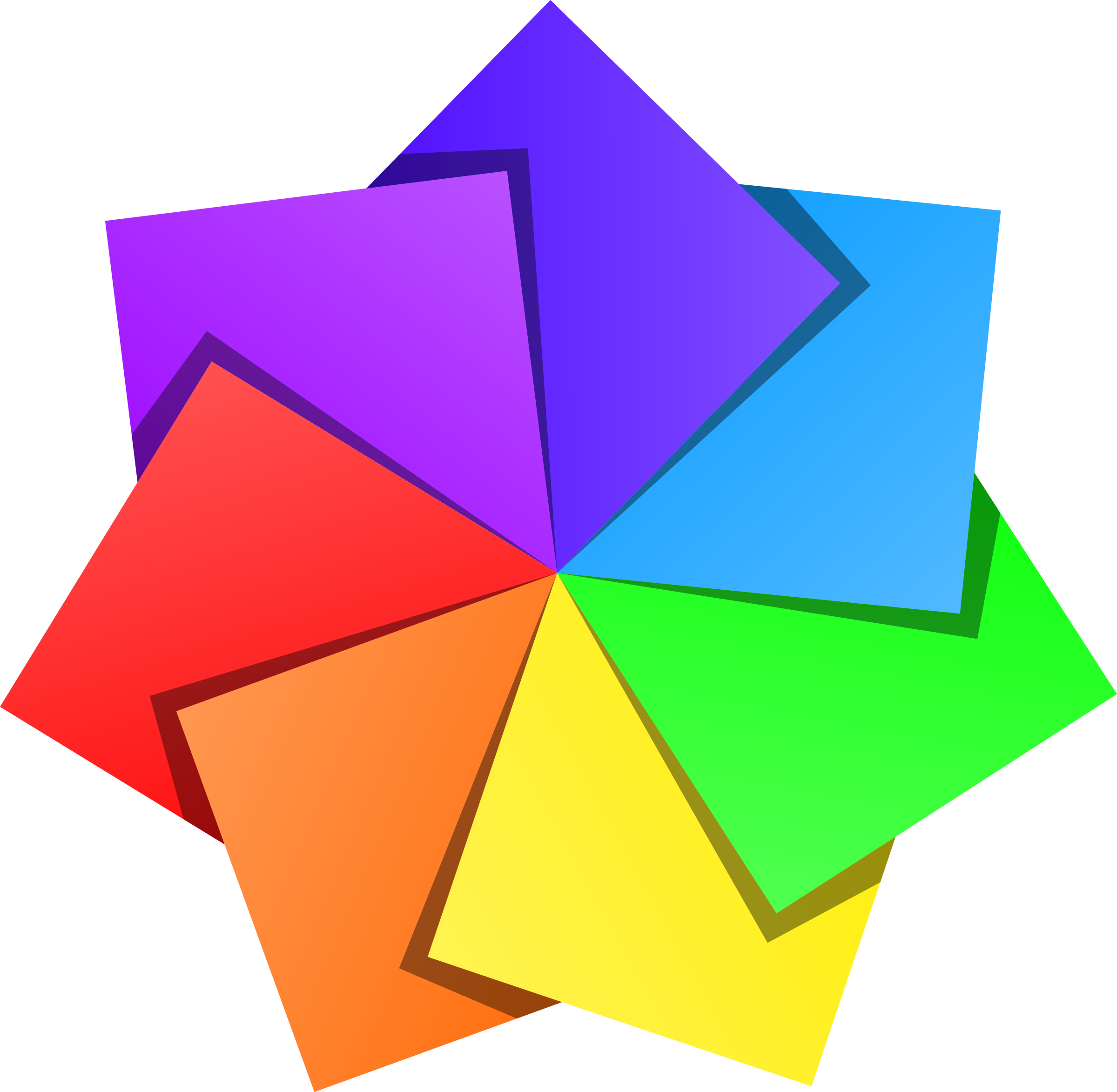 Color Star 2 Icons PNG - Free PNG and Icons Downloads