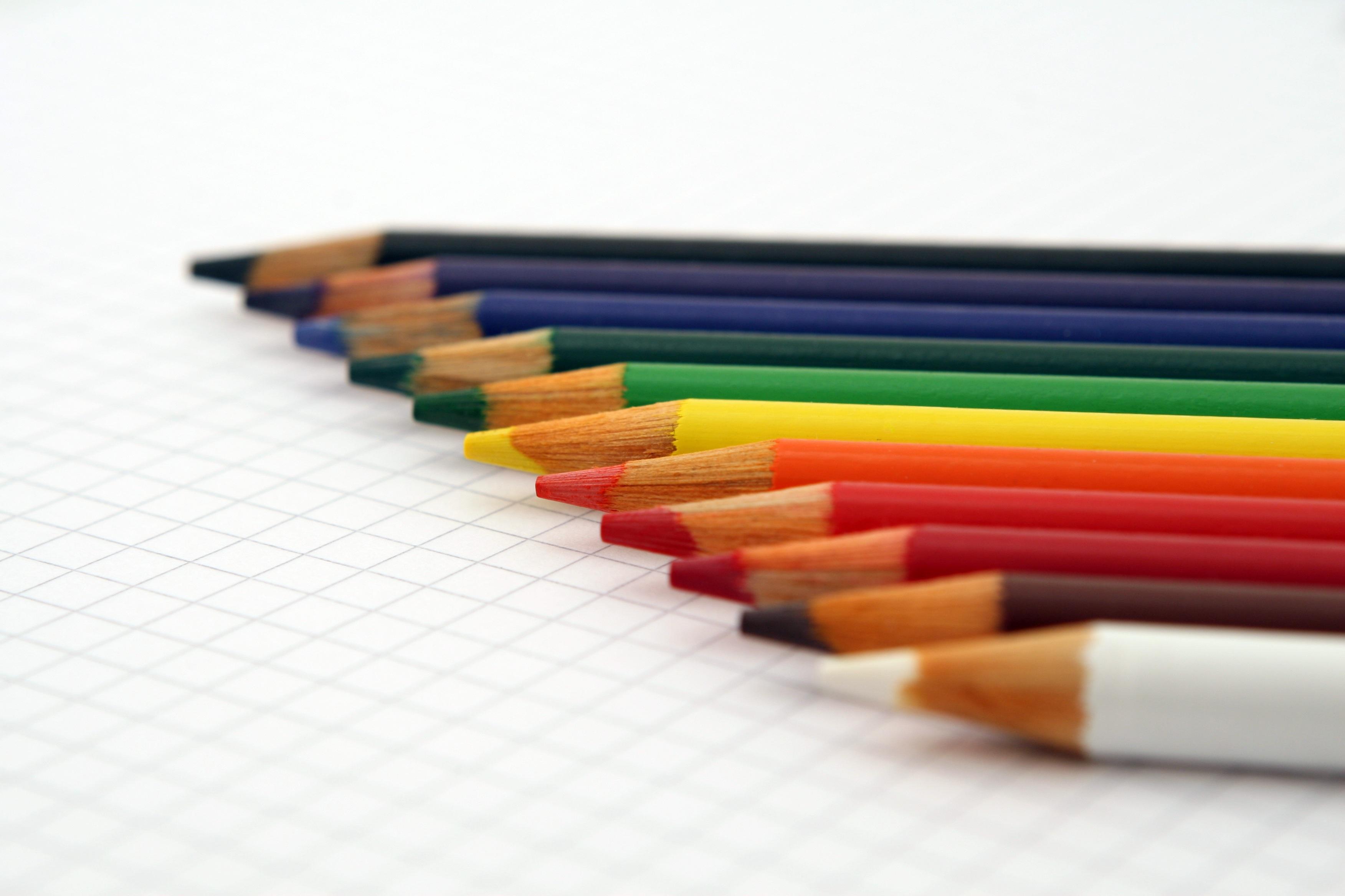 Color, Art, Idea, Pencil, Sketch, HQ Photo