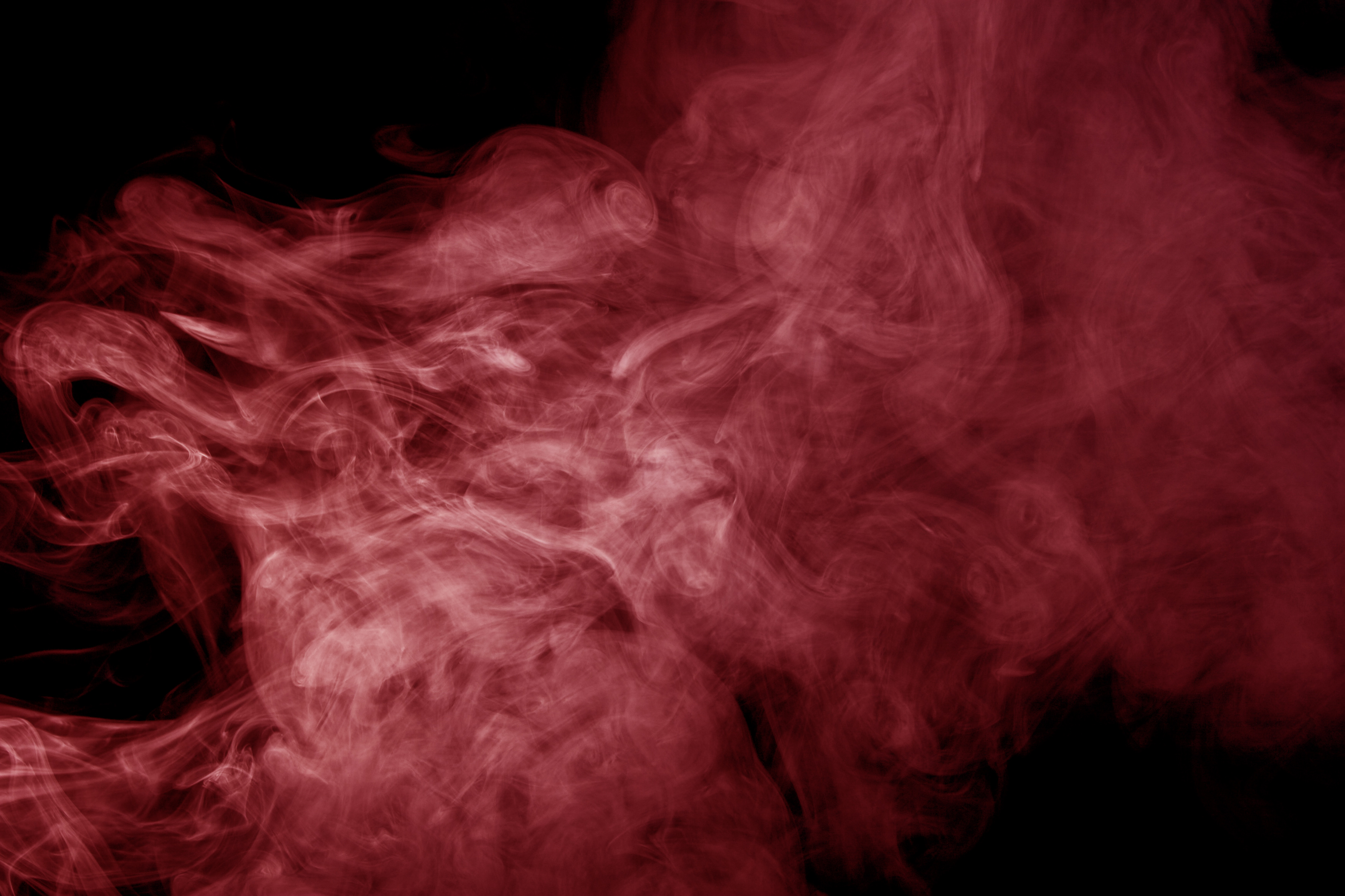 Red smoke photo