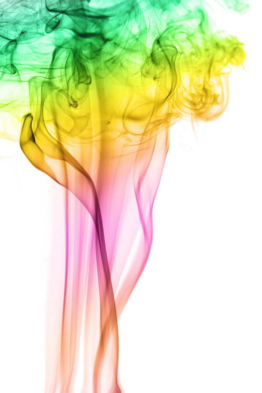 colored smoke, Abstract, Shape, Magic, Motion, HQ Photo