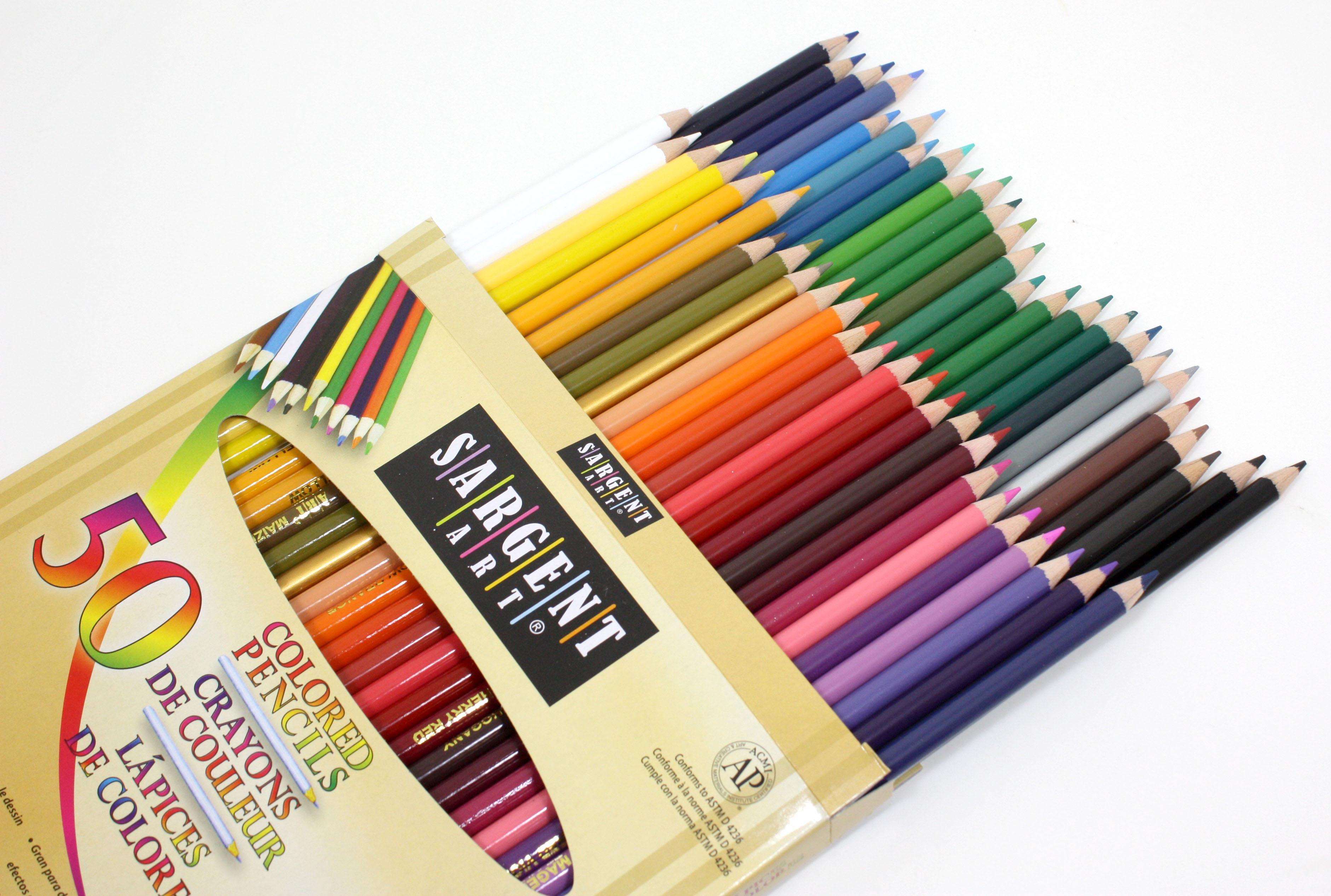 Gallery: Colored Art Pencils, - Drawings Art Gallery