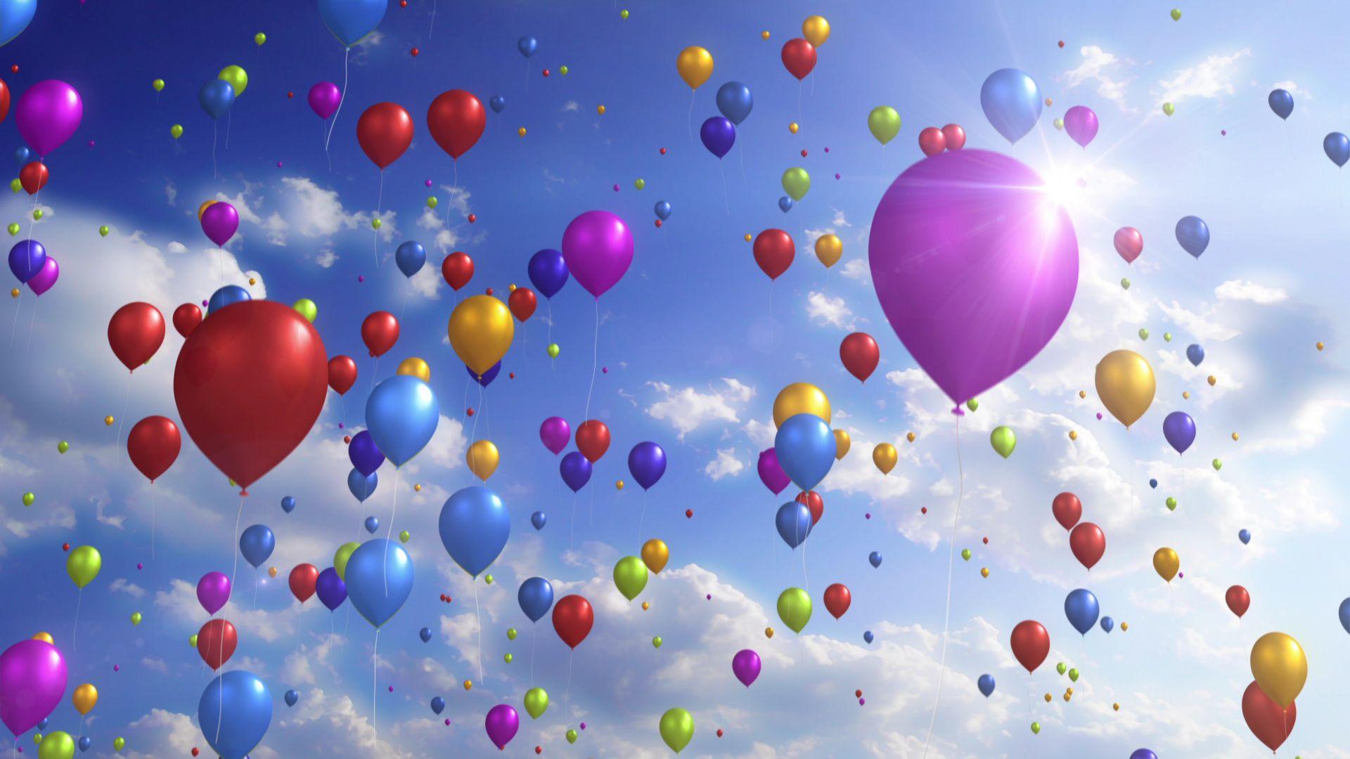 Free photo: Colorful Balloons - Balloons, Birthday ...