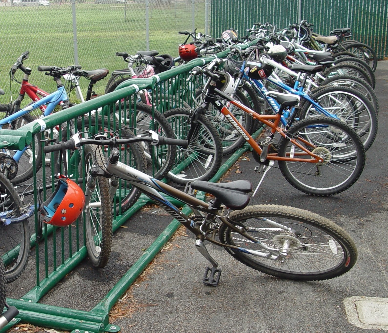 It's all about the bike rack - Washington BikesWashington Bikes