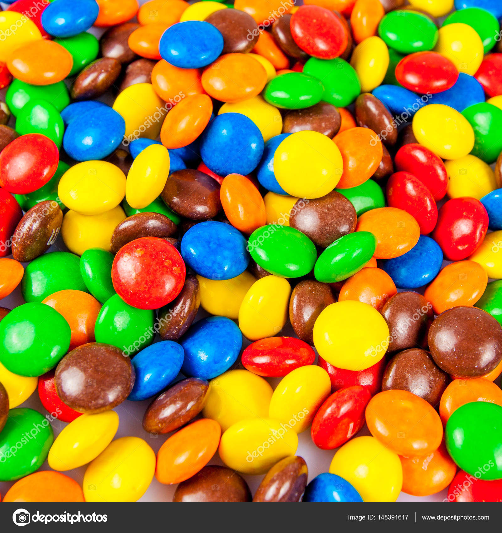 colorful candies. Colorful chocolate candy for backgrounds — Stock ...