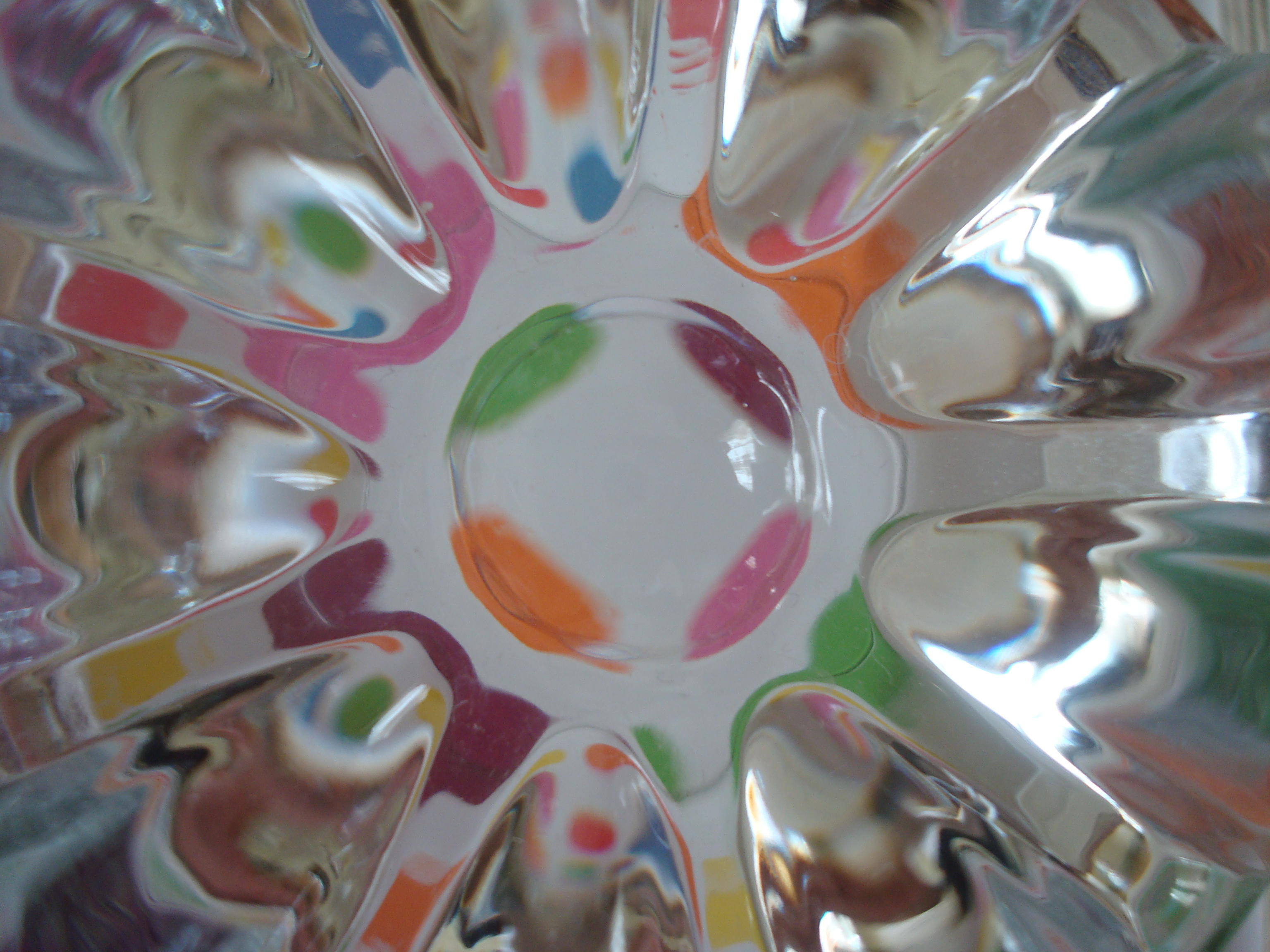 Colorful glass texture photo