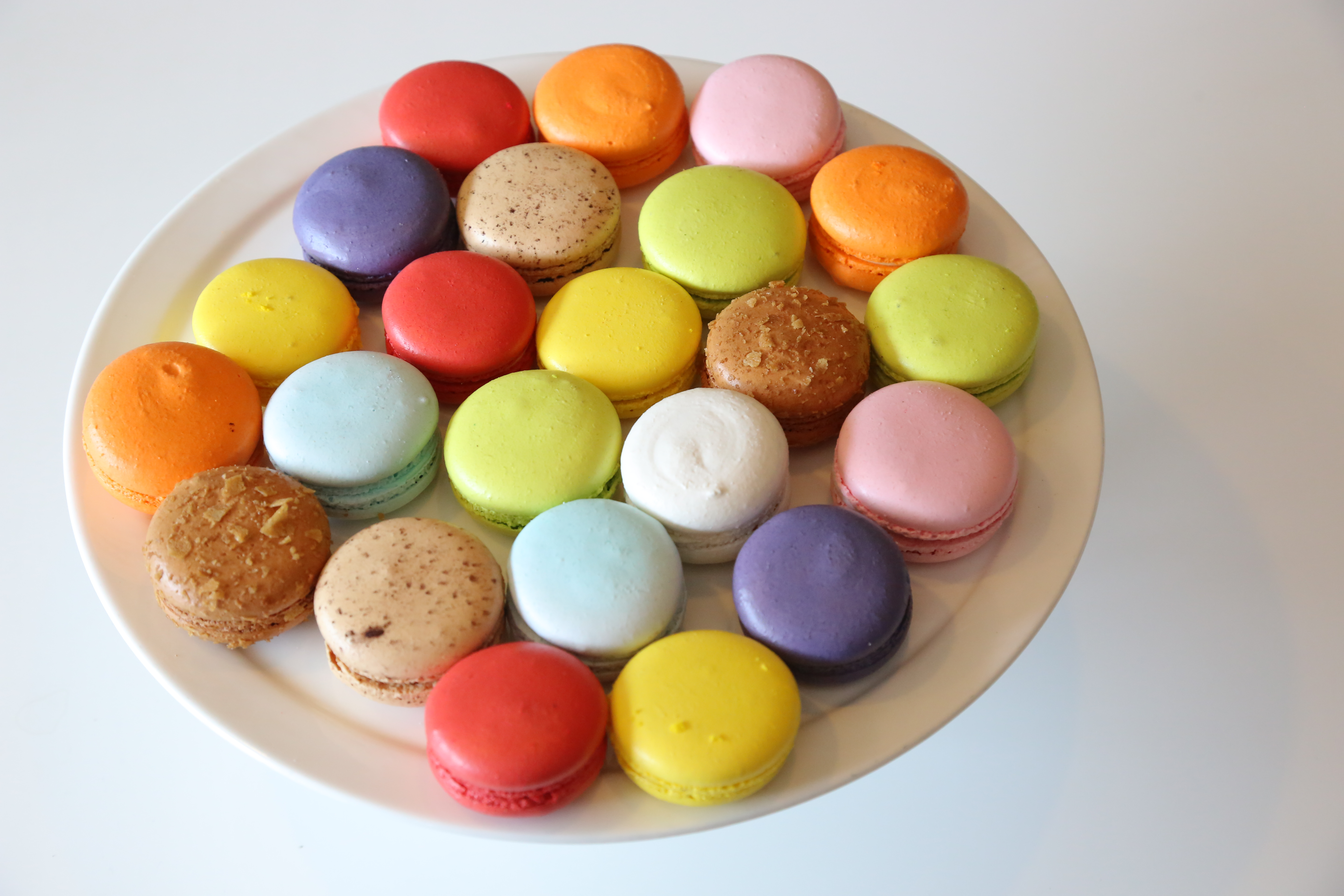Colorful Macarons, Bakery, Cake, Candy, Coffee, HQ Photo