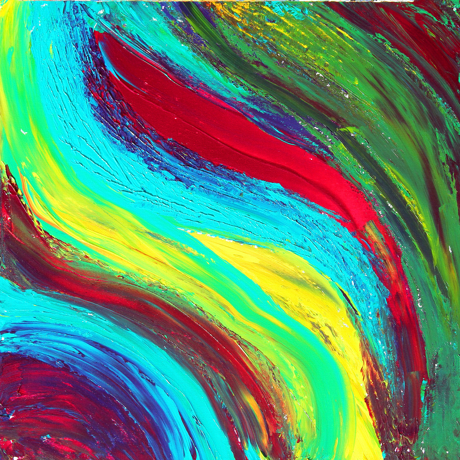 Free Photo: Colorful Paint Abstract