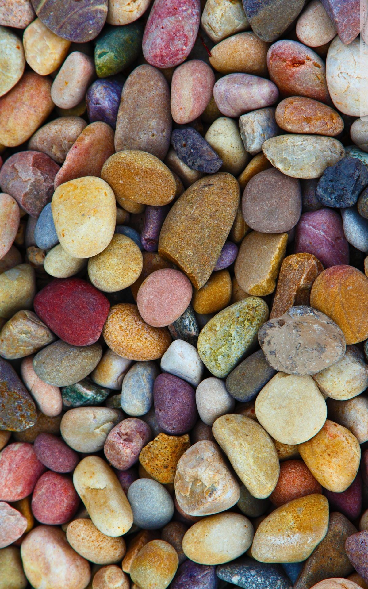 Multi-colored rock background photo