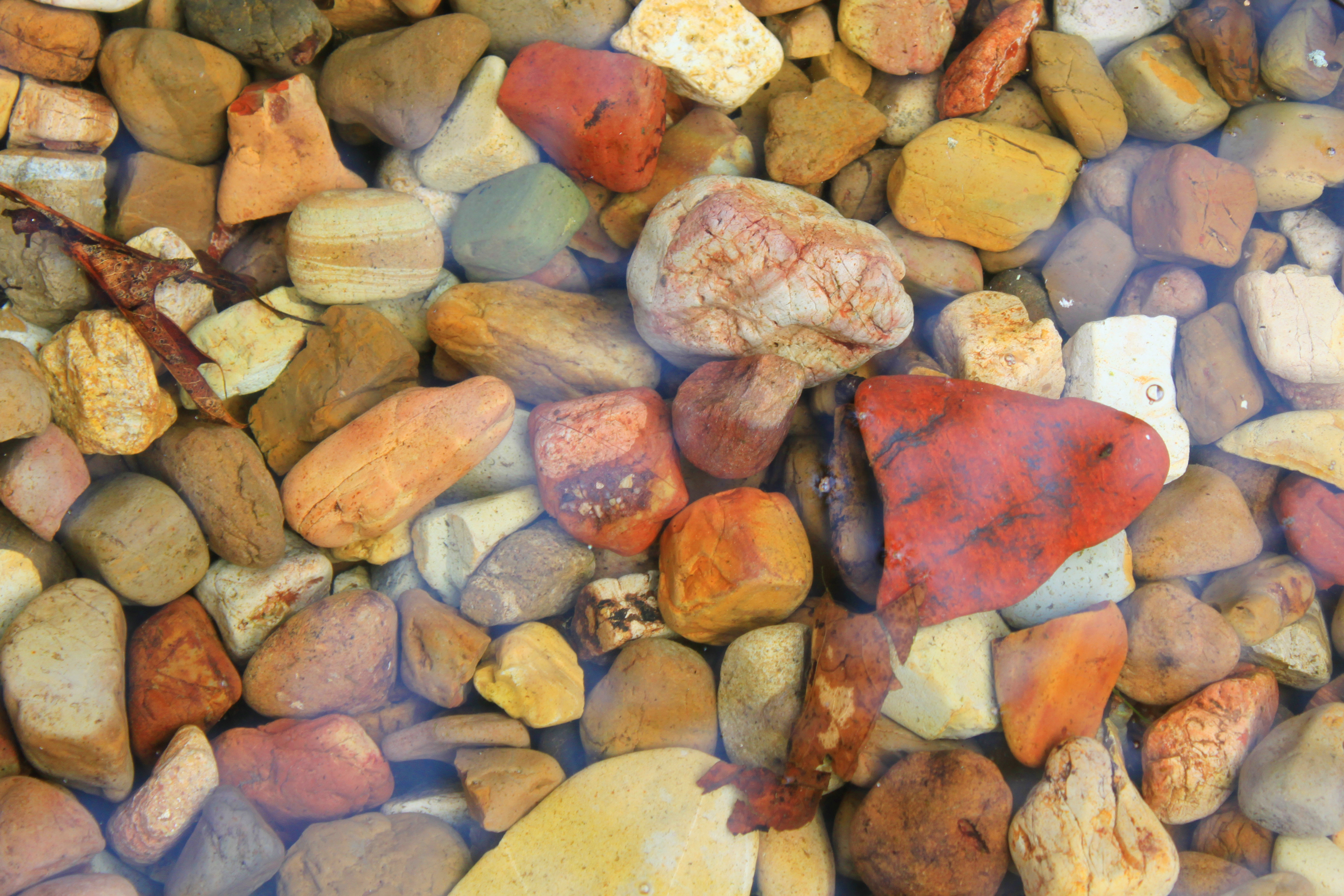 Colorful rocks photo