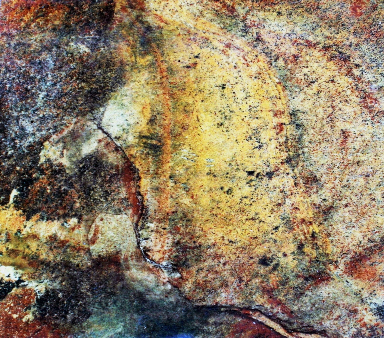 Colorful slate stone background photo