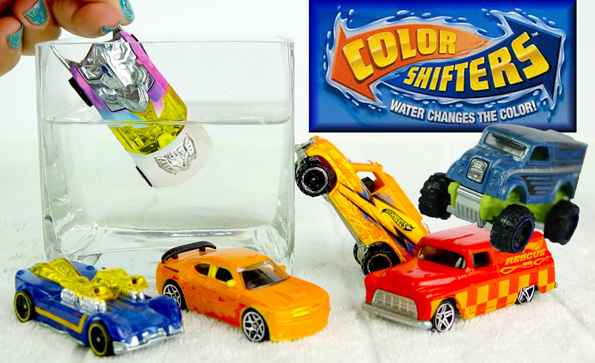 Color Changers Cars Toys NEW Hot Wheels Monster Trucks ☆ Color ...