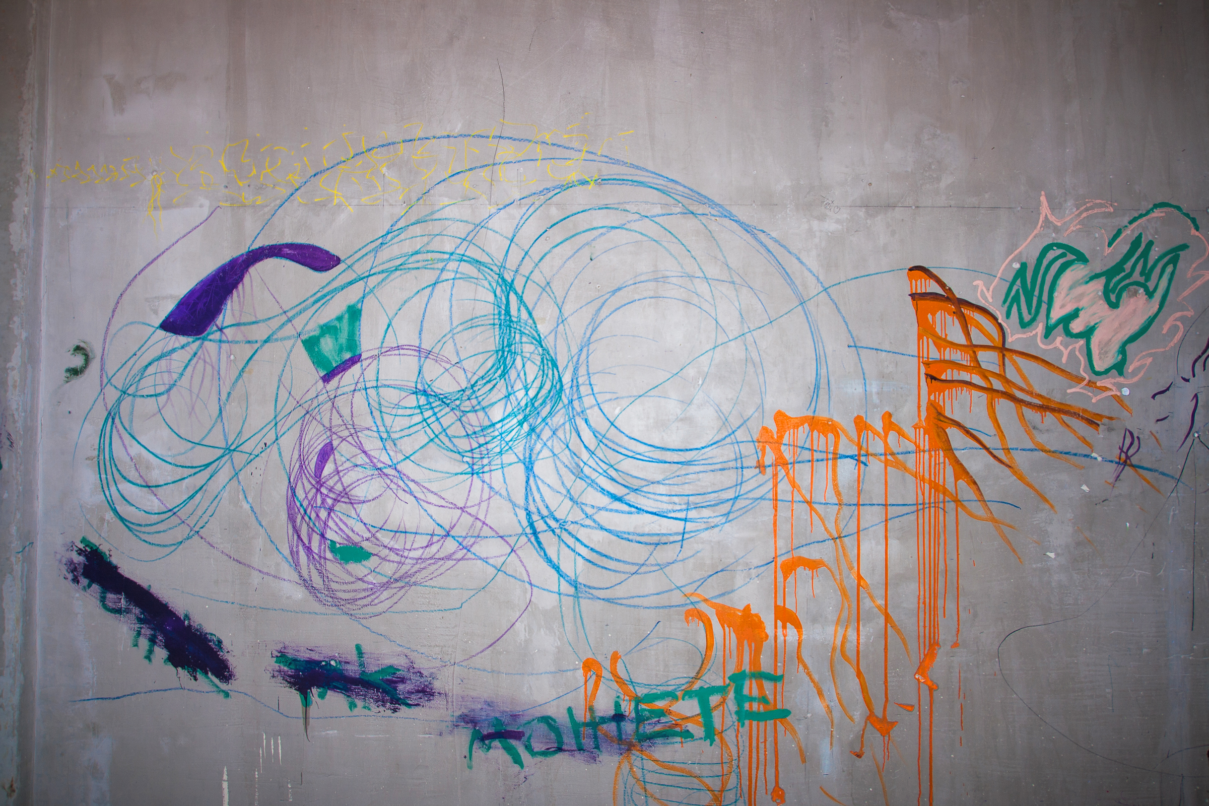 Colorful wall photo