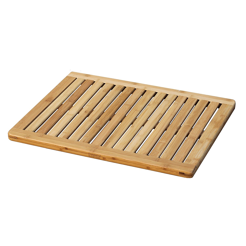 Amazon.com: Oceanstar FM1163 Bamboo Floor and Shower Mat: Home & Kitchen