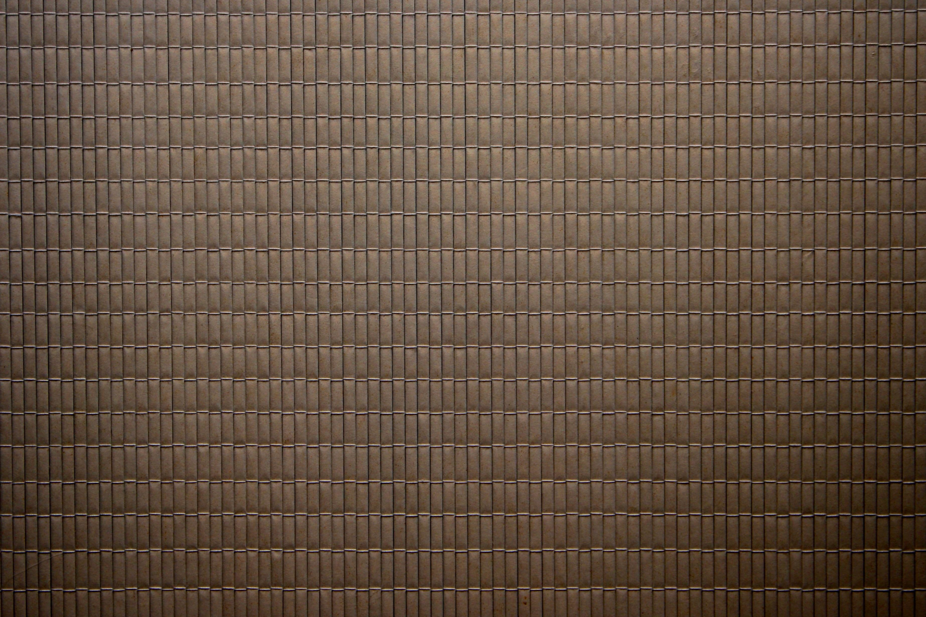Free picture: coffee color, brown, bamboo mat, texture